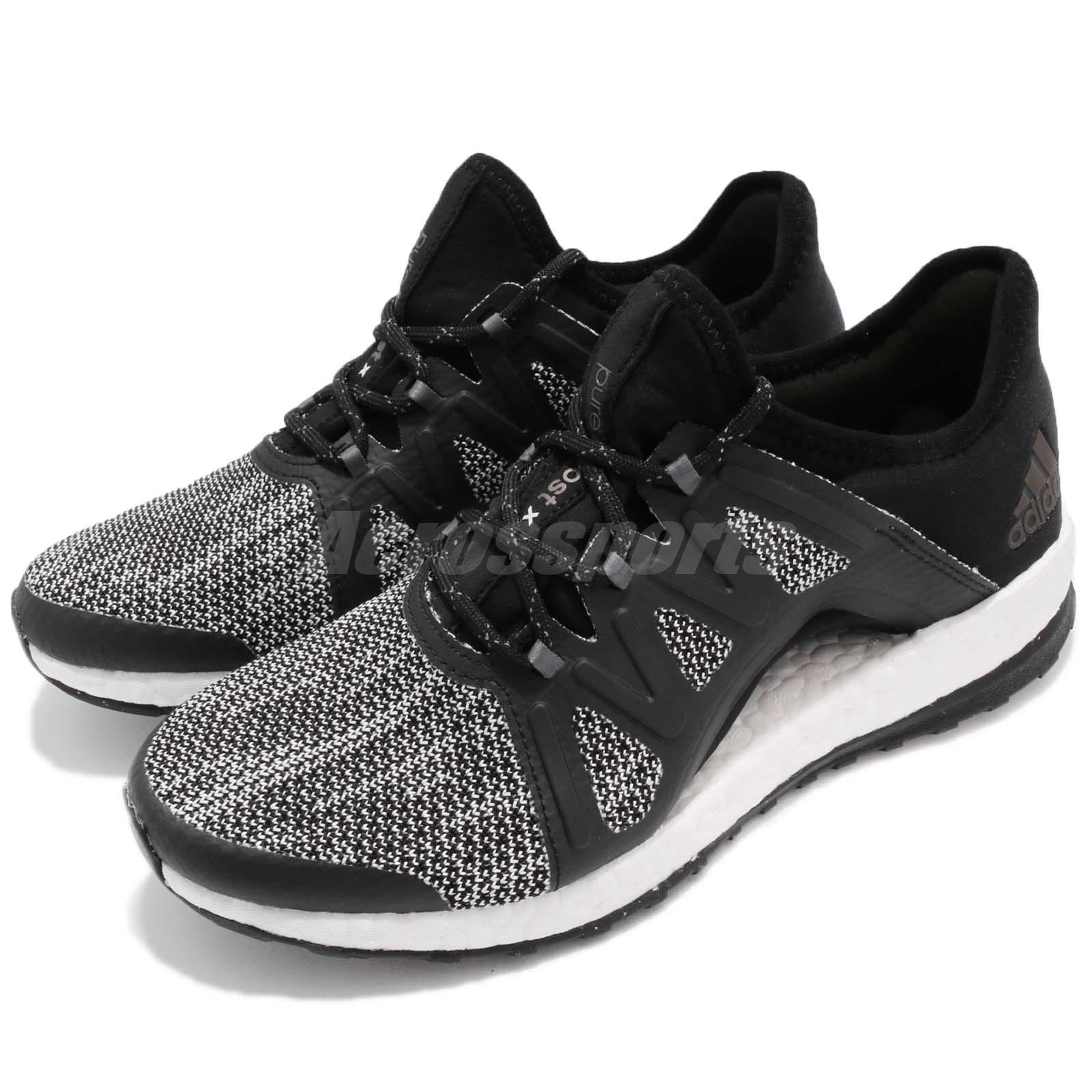 90757fa1871b1 Details about adidas PureBoost Xpose All Terrain ATR Black White Women Running  Shoes S81148