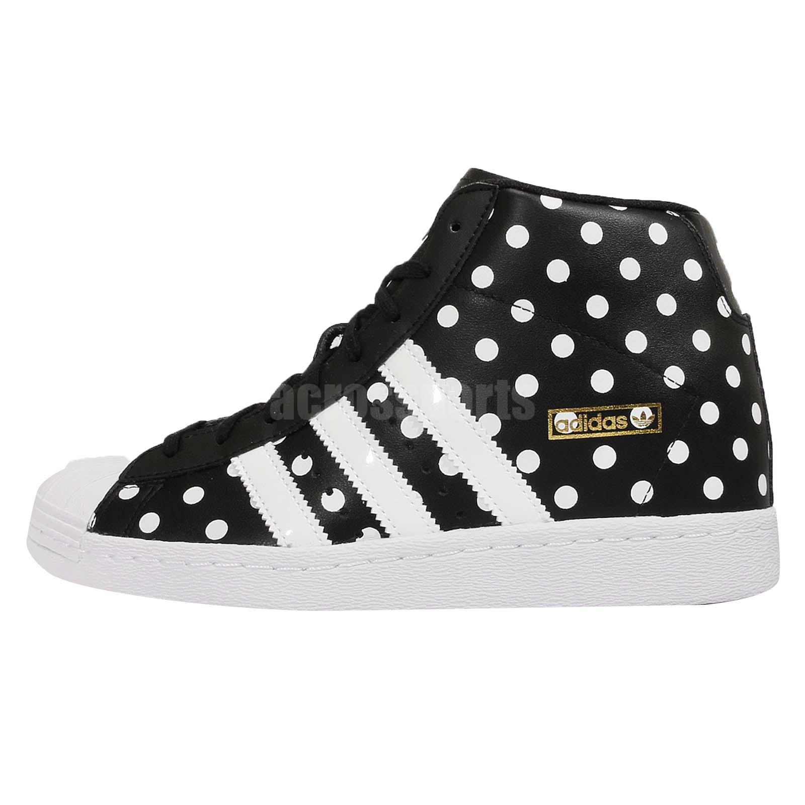 Adidas Superstar Up Womens Wedges in Black White