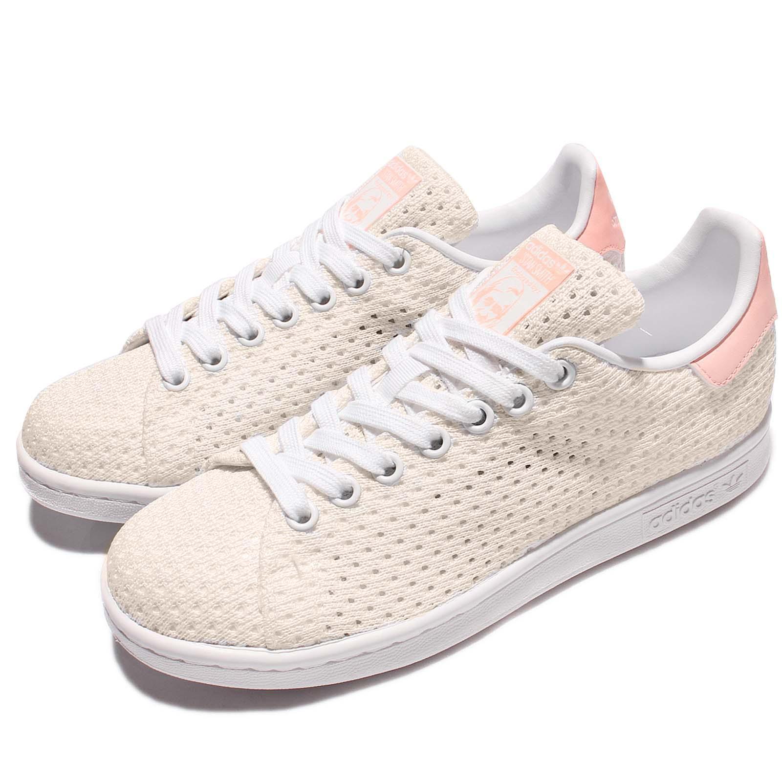 acheter en ligne 570ee 73c36 Details about adidas Originals Stan Smith W Mesh White Pink Classic Women  Casual Shoes S82256