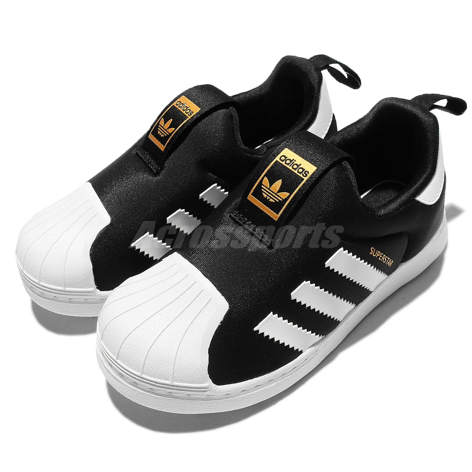0eacbef555b Details about adidas Originals Superstar 360 I Black White TD Toddler  Infant Baby Shoes S82711