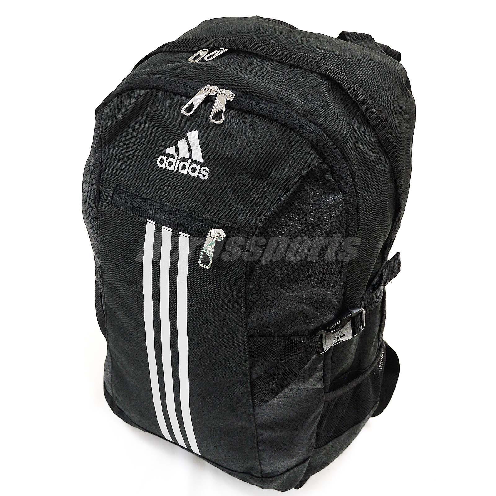 Adidas 3 Stripes Backpack Black White- Fenix Toulouse Handball 6be83b4fc7fd7