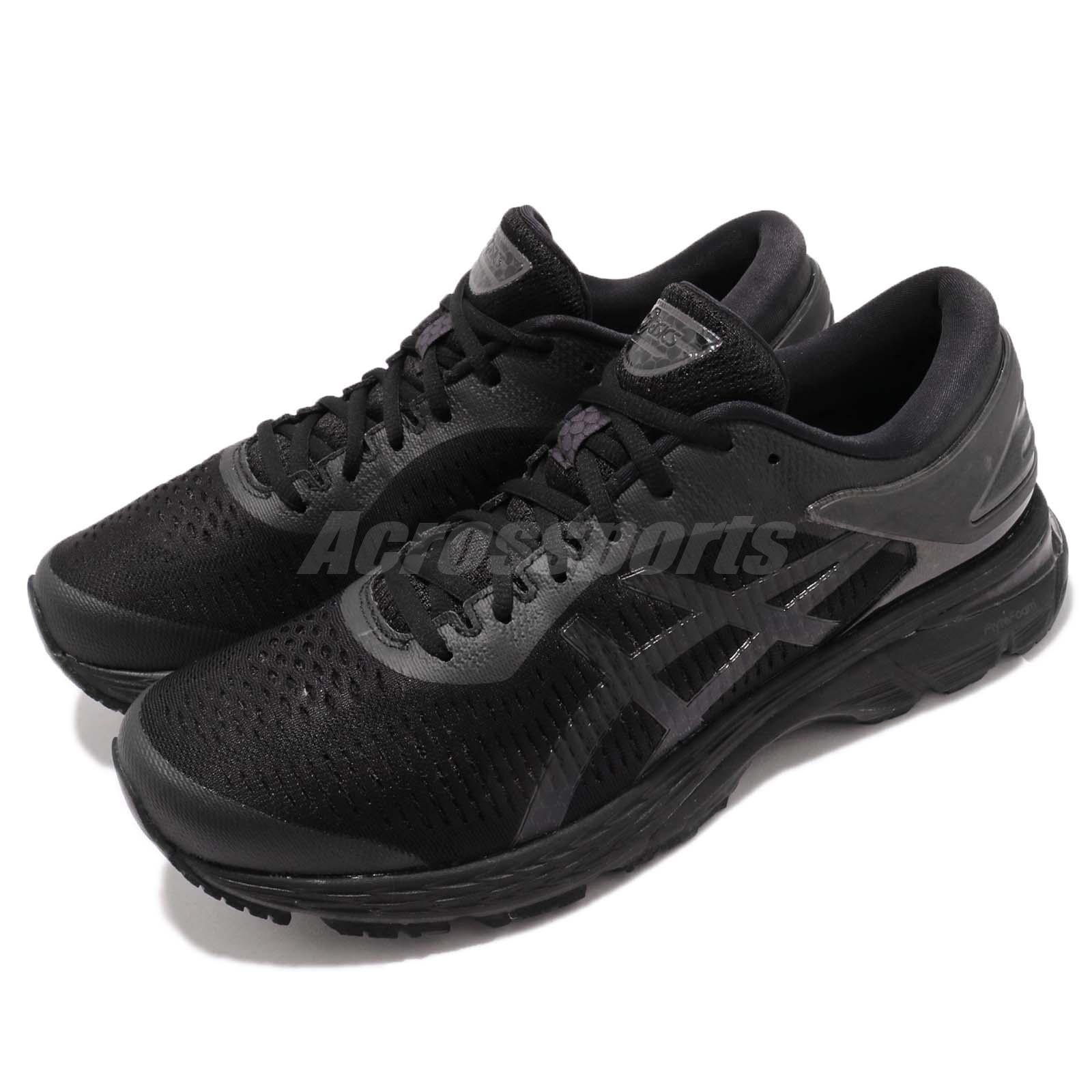 22537f92d Details about Asics Gel-Kayano 25 FlyteFoam Black Men Running Shoes  Sneakers 1011A01-9002