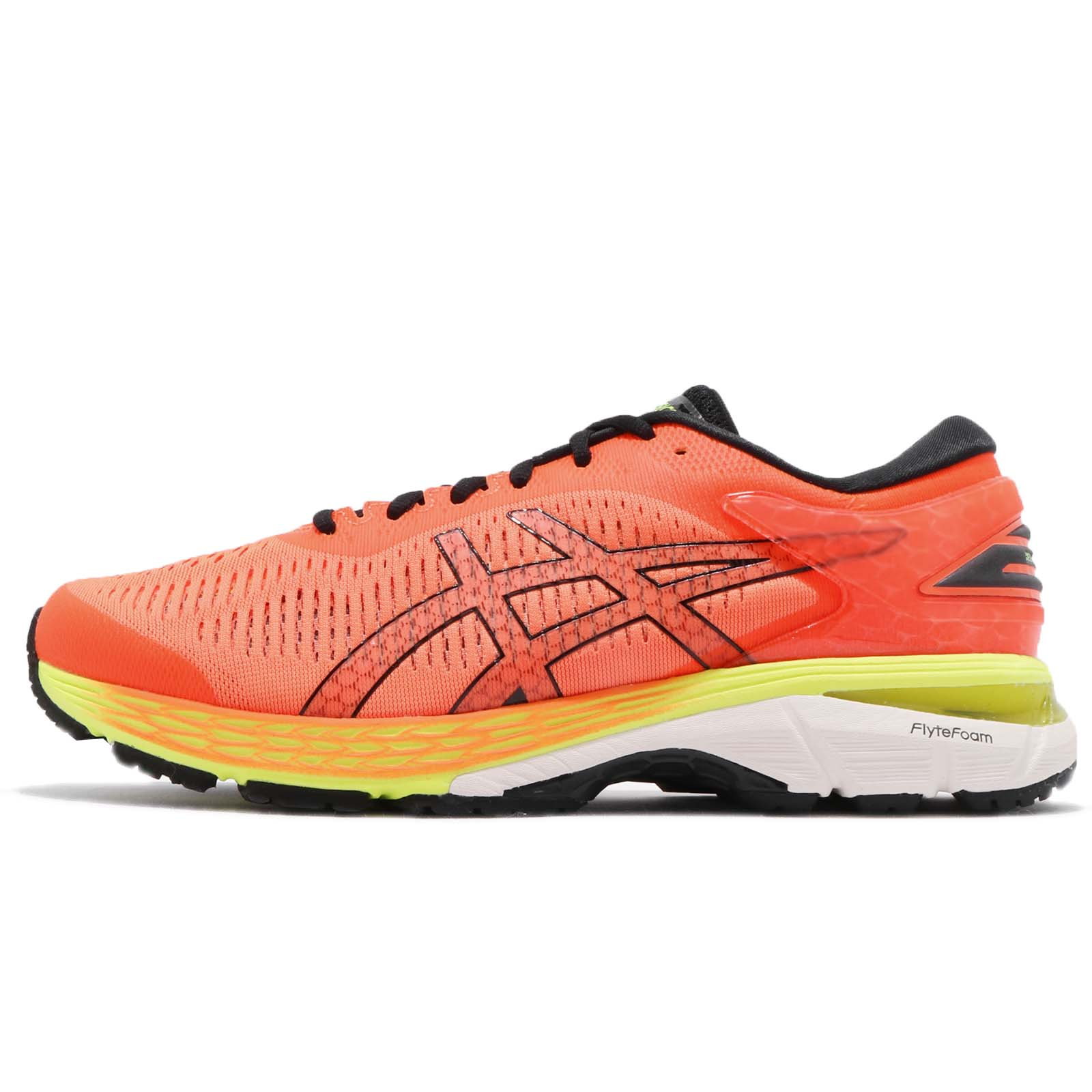 35e93e2f11c ... netherlands asics gel kayano 25 orange black white men running shoes  sneakers 1011a019 800 e1373 9dbf2