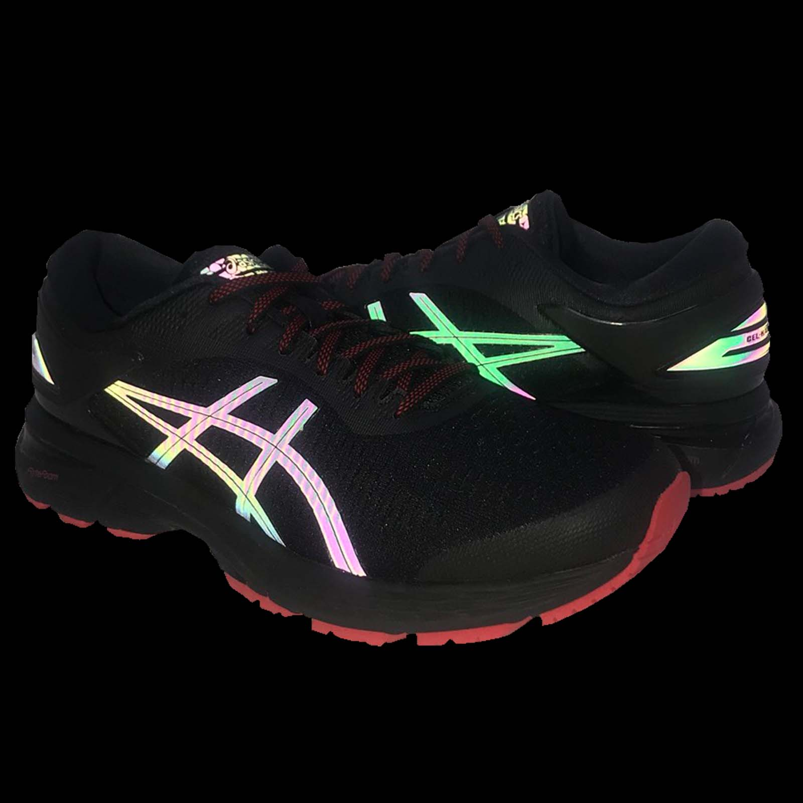 3f1229ad Details about Asics Gel-Kayano 25 Lite-Show Black Reflective Men Running  Shoes 1011A022-001
