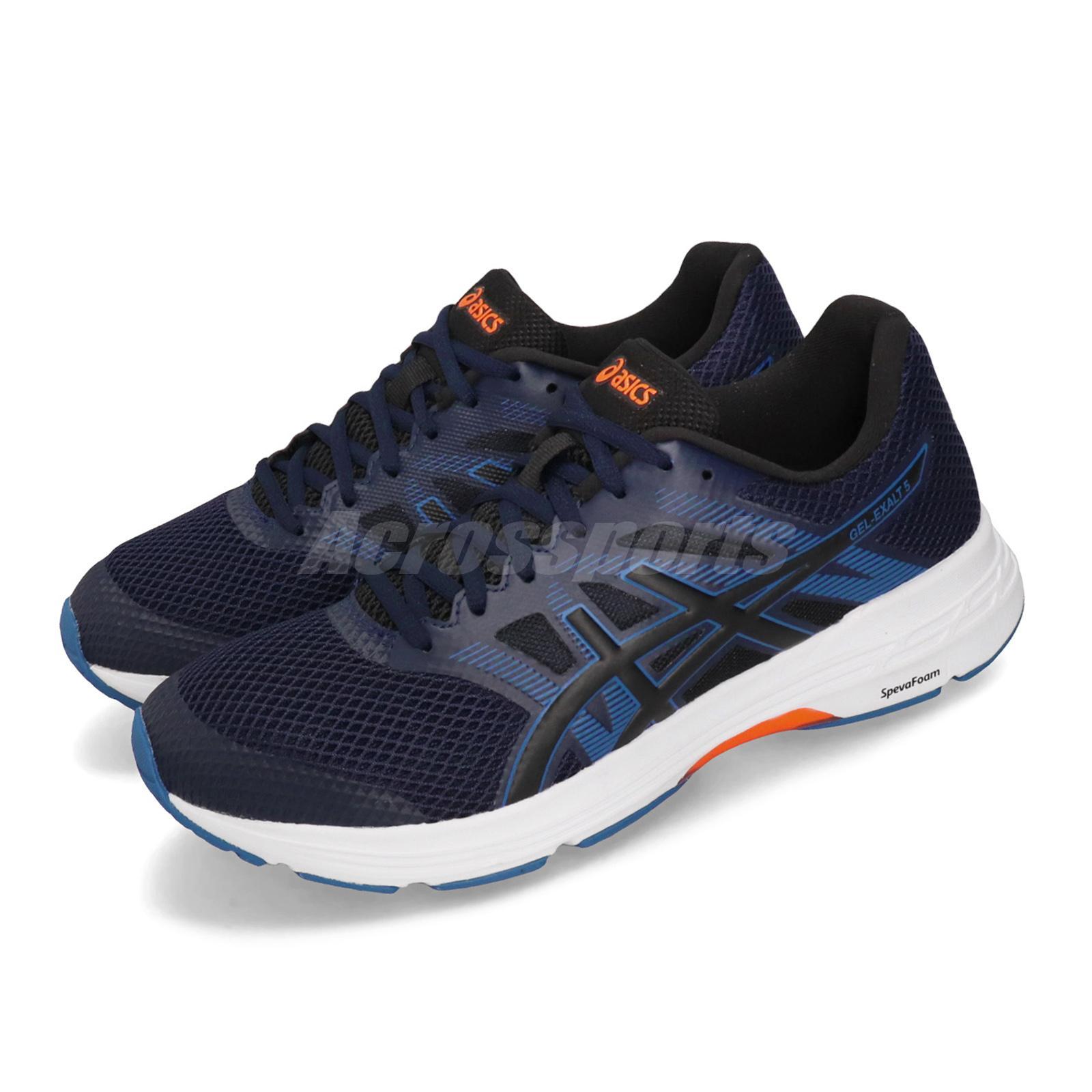 Asics Gel-Exalt 5 Peacoat Blue White Men Running Shoes Sneakers 1011A162-401