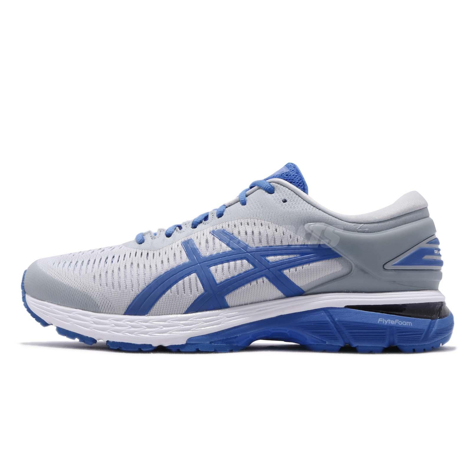 8e577fdb64 Asics Gel Kayano 25 Lite Show Grey Blue Men Running Shoes Sneakers  1011A204-020