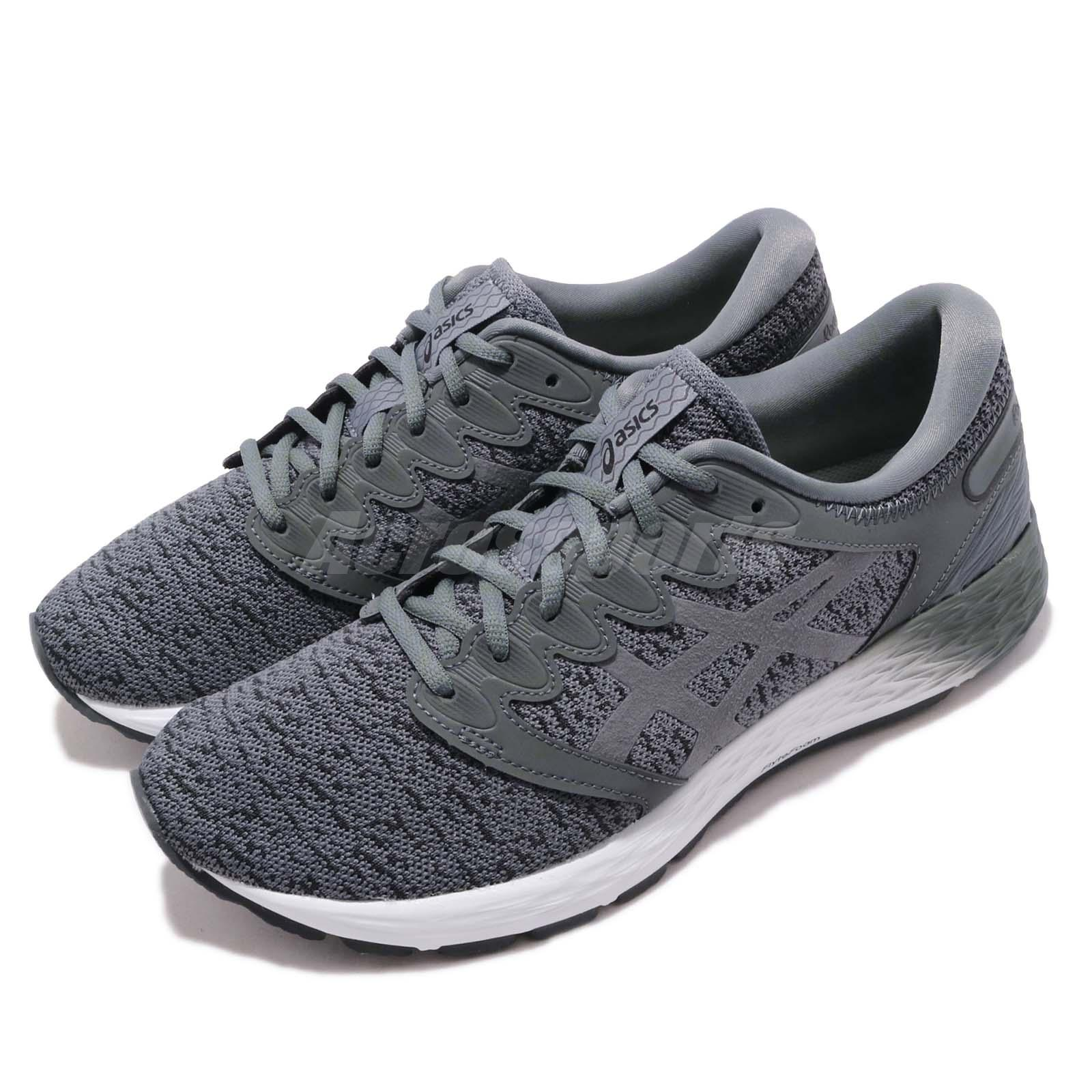 Details about Asics RoadHawk FF 2 MX Grey Men Running Training Shoes  Sneakers 1011A255-021