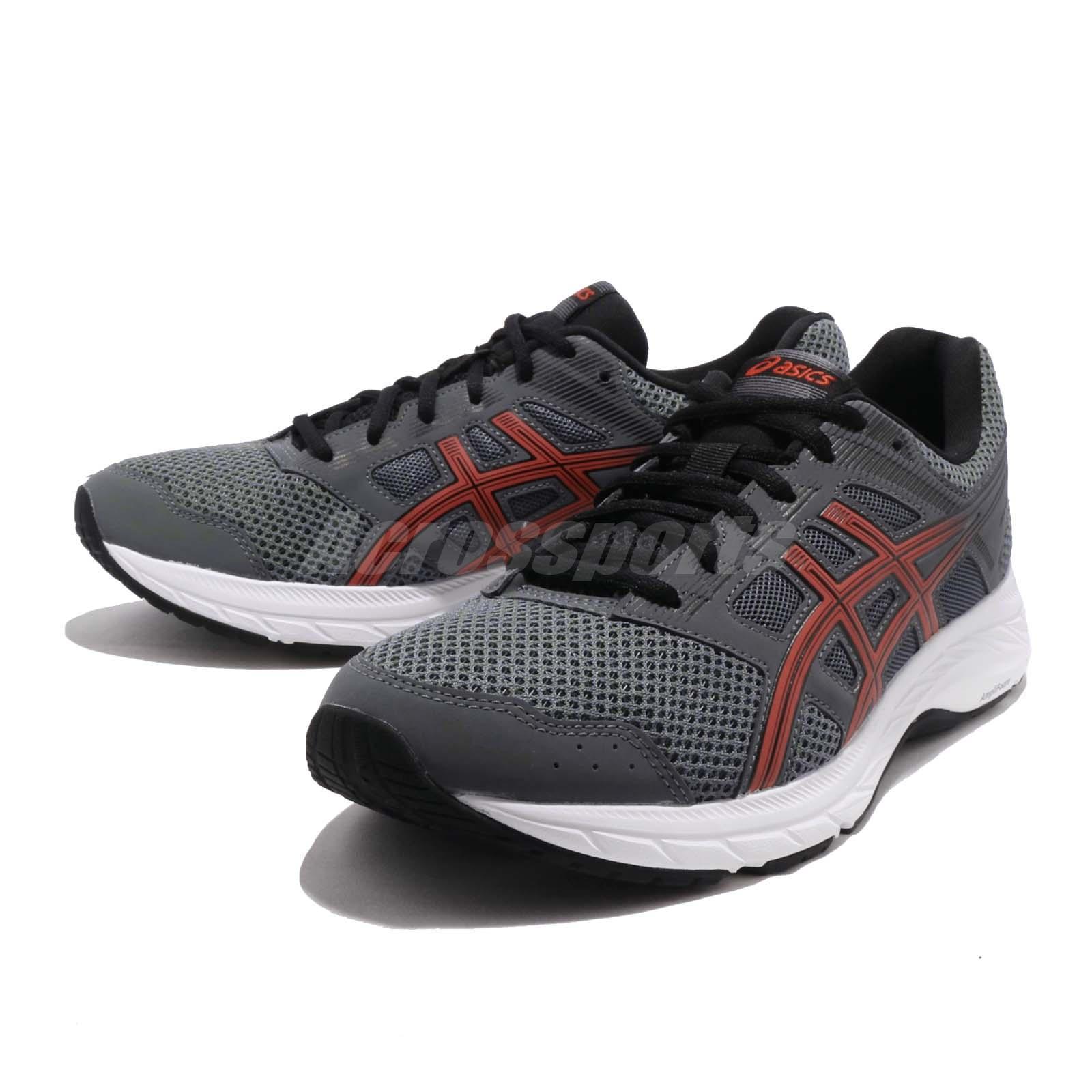 4964c02111e9 Details about Asics Gel Contend 5 Steel Grey Red Snapper Men Running Shoe  Sneaker 1011A256-021