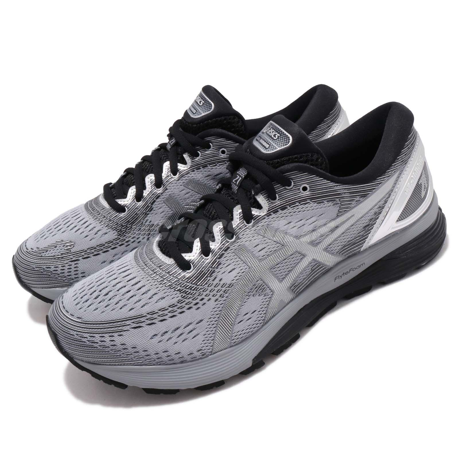 Details about Asics Gel-Nimbus 21 Platinum Sheet Rock Silver Mens Running  Shoes 1011A709-020