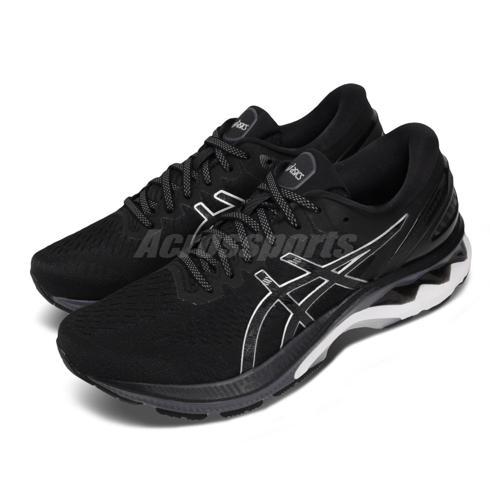 licencia Propiedad Cooperación  Asics Gel-Kayano 27 2E Wide Black Silver White Men Running Shoes  1011A835-001   eBay