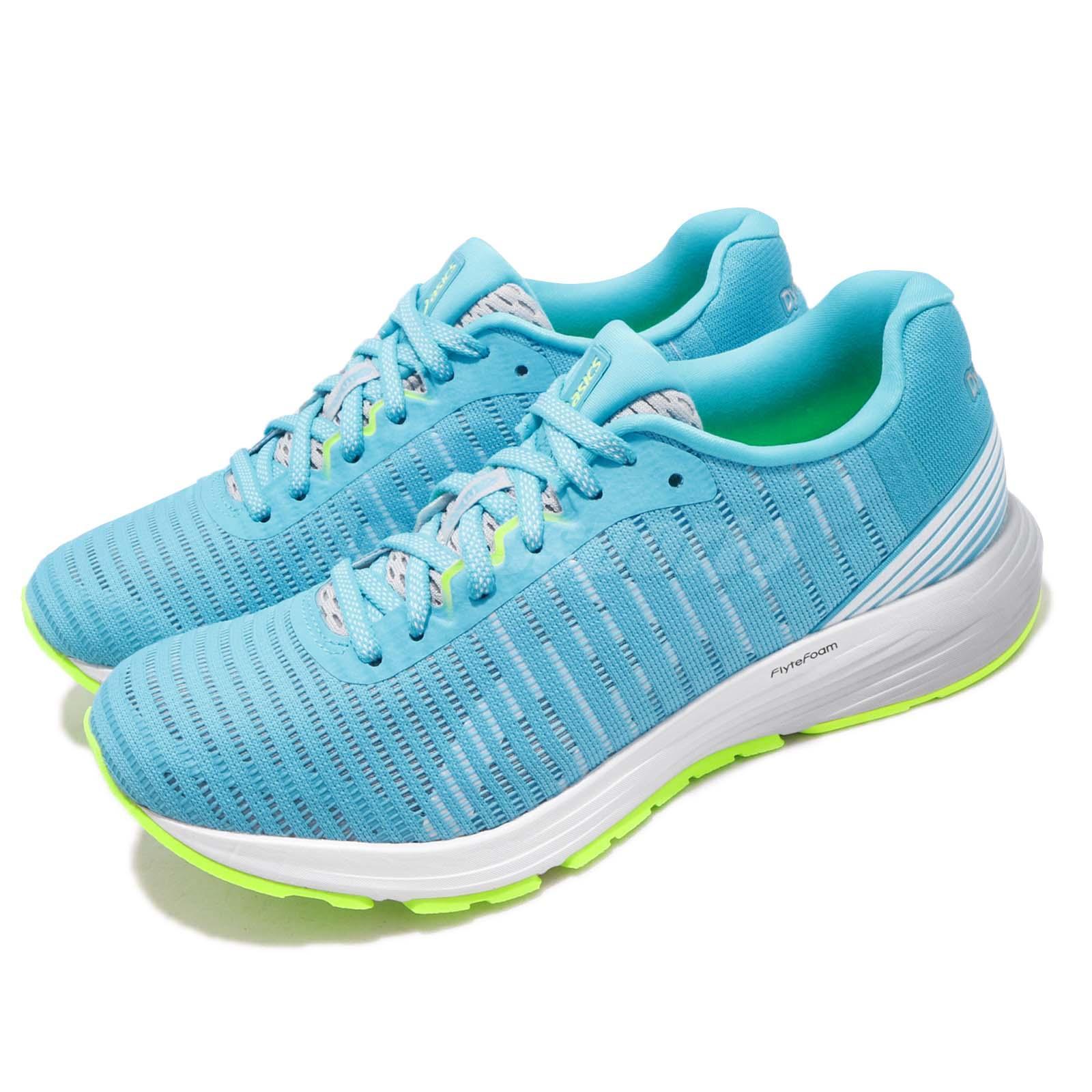quality design 5efa3 eda51 Details about Asics DynaFlyte 3 III Aqua Arium Blue White Women Running  Shoes 1012A002-400