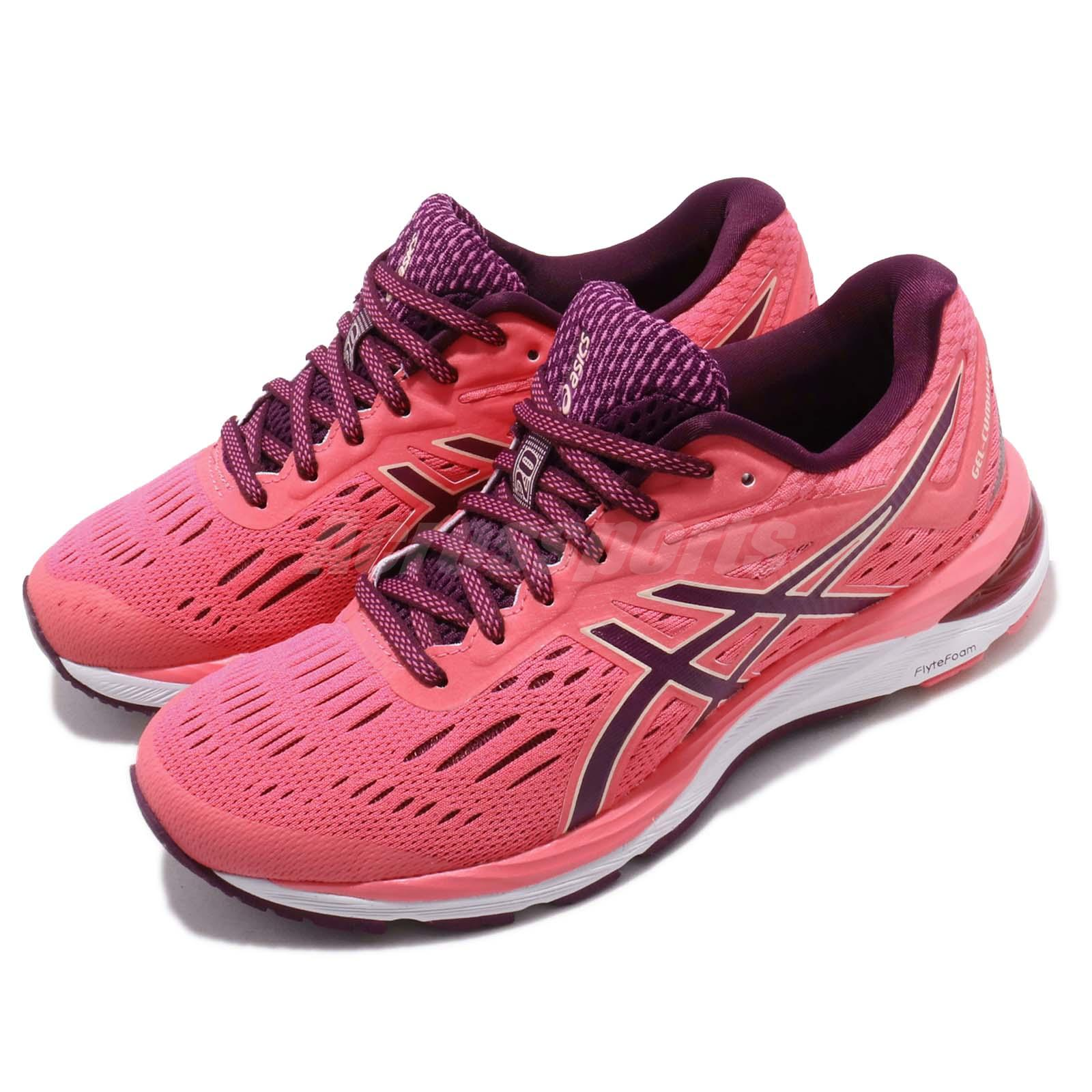 big sale a03cf fa157 Details about Asics Gel Cumulus 20 Pink Cameo Roselle Women Running Shoes  Sneaker 1012A008-700