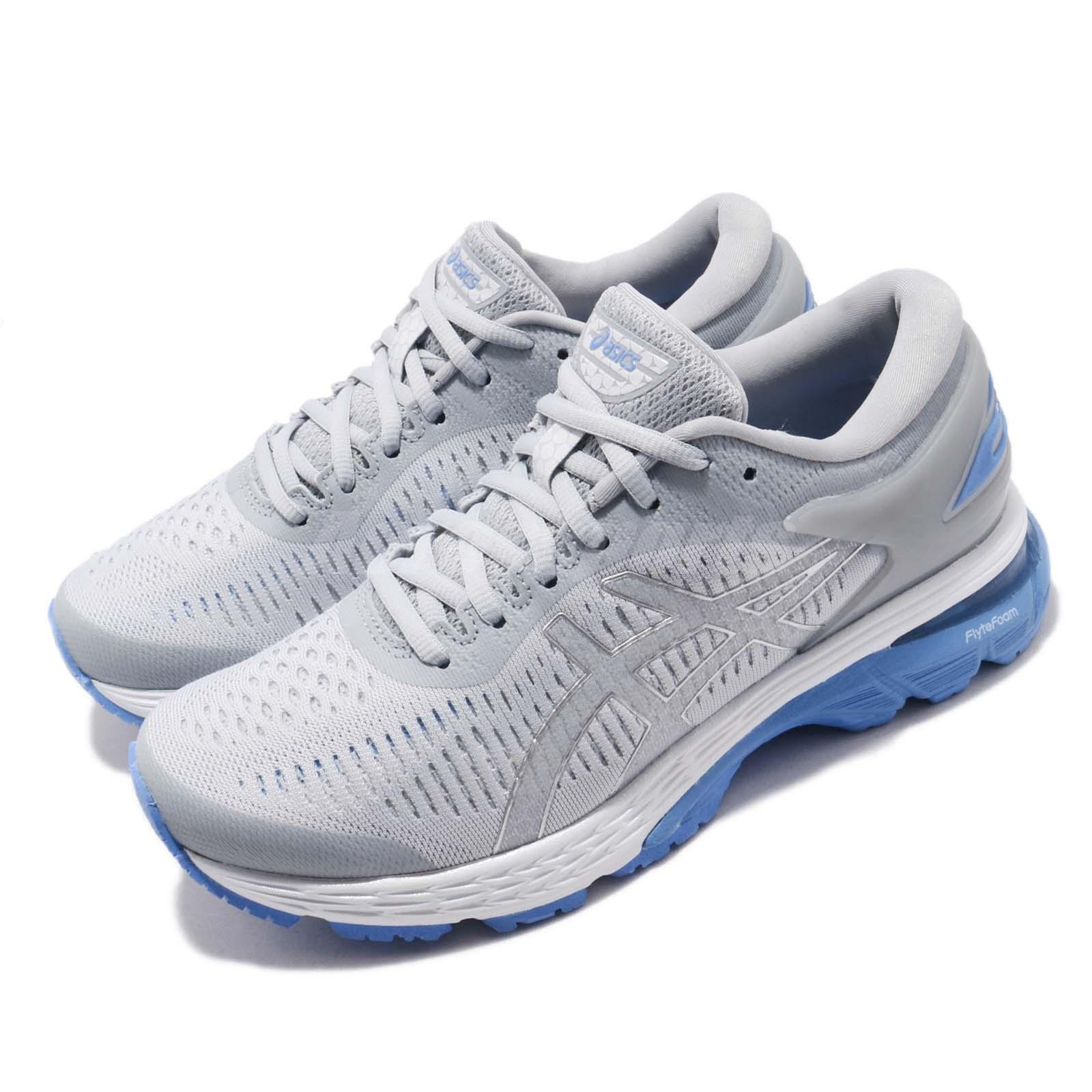 8be64d3ded46 Details about Asics Gel Kayano 25 D Wide Grey Blue Coast Women Running Shoes  1012A032-022