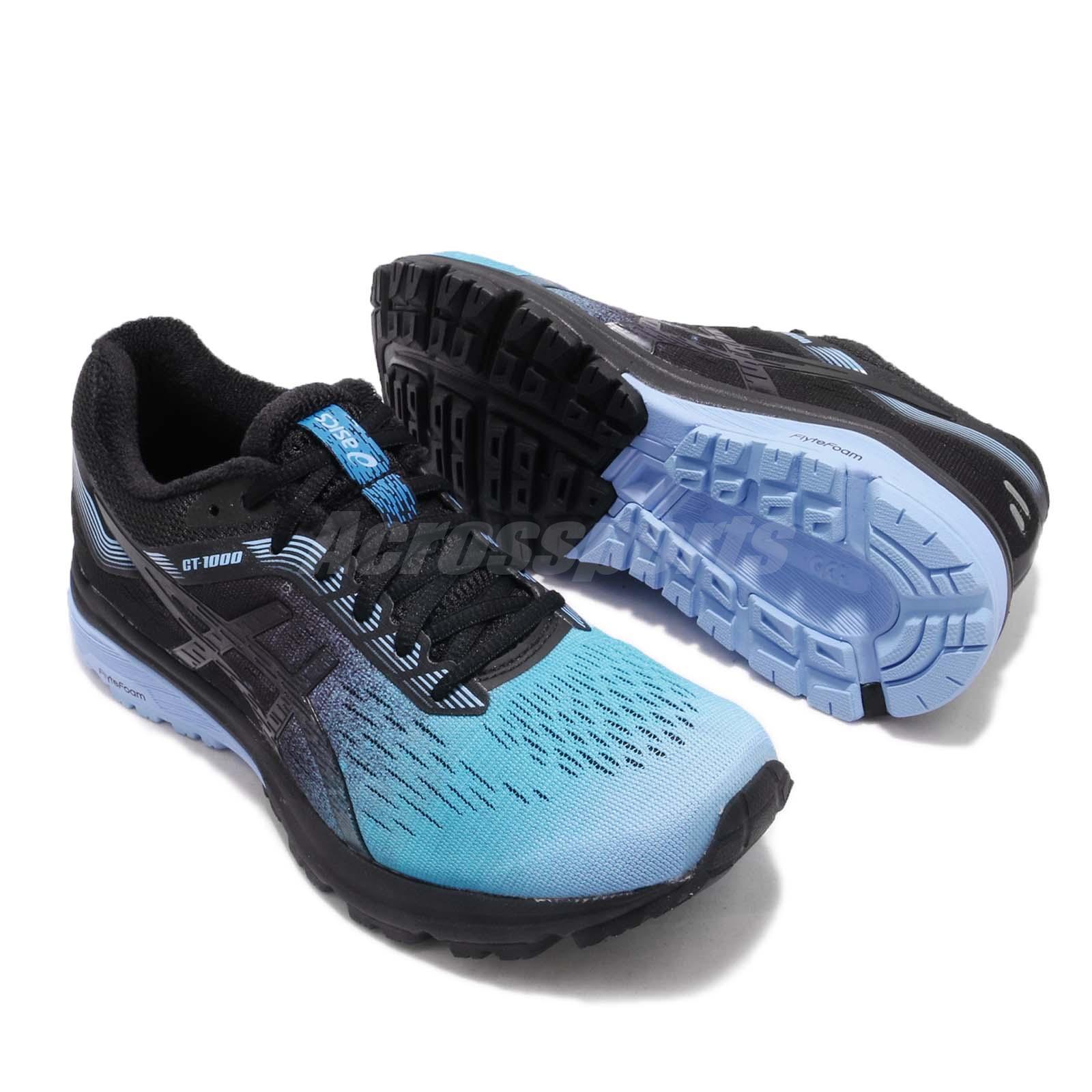 93a117372ce5 Asics GT-1000 7 SP Solar Shower Blue Bell Black Women Running Shoes ...