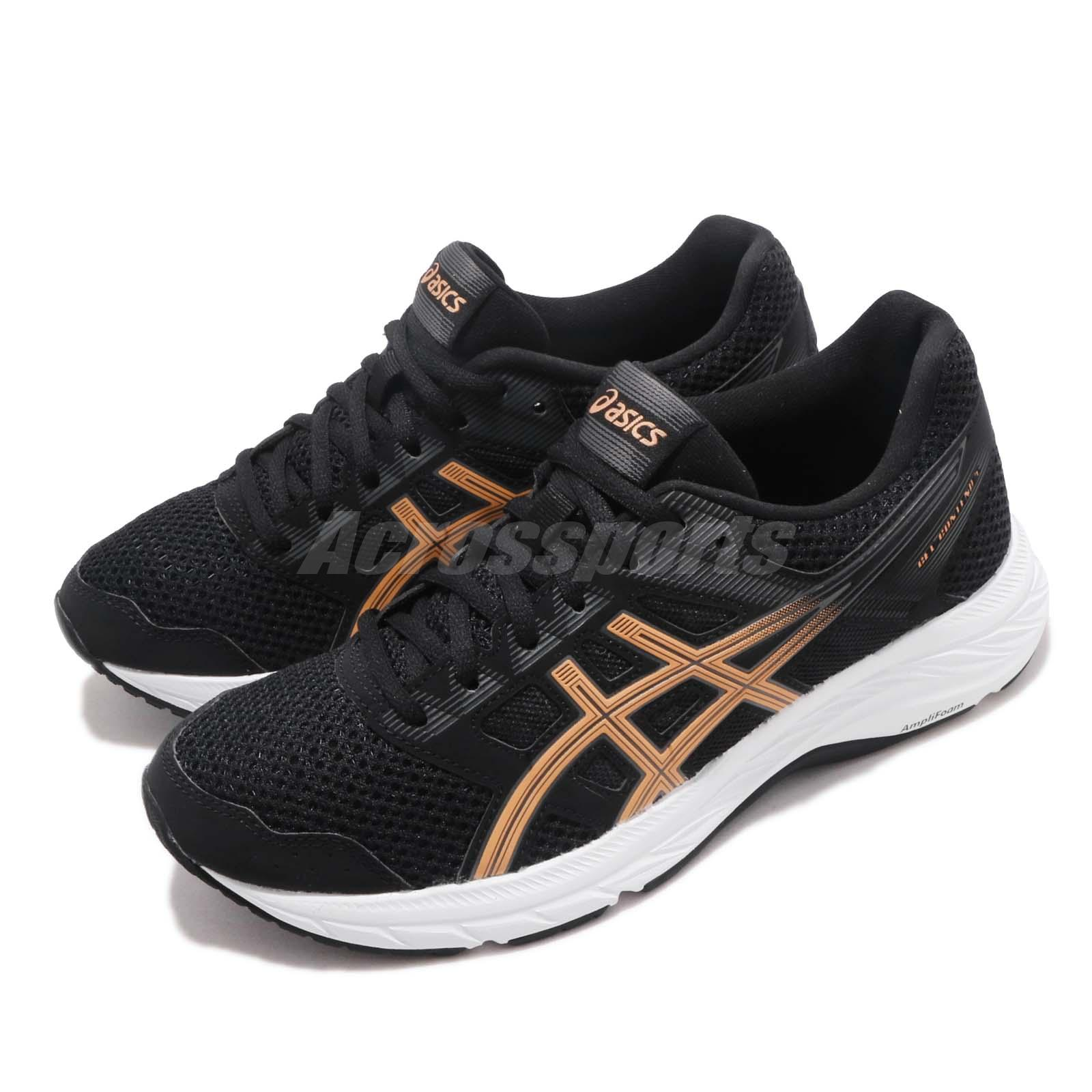 bb5ddc708fc82 Details about Asics Gel-Contend 5 Black Summer Dune Women Running Shoes  Sneakers 1012A234-001