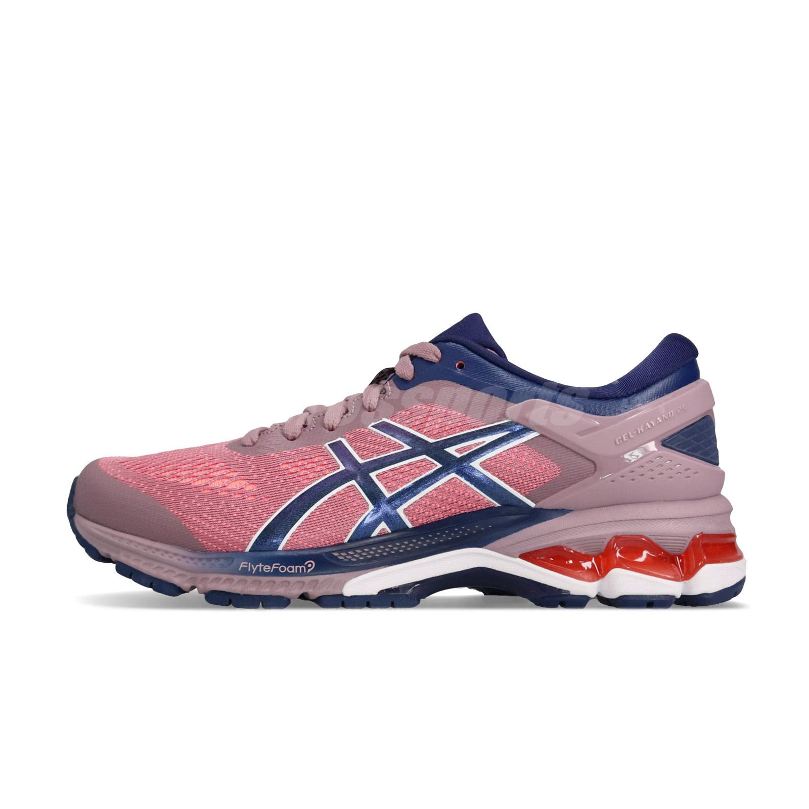c7bcf2e0d8 Details about Asics Gel-Kayano 26 Pink Navy White Women Running Shoes  Sneakers 1012A457-500