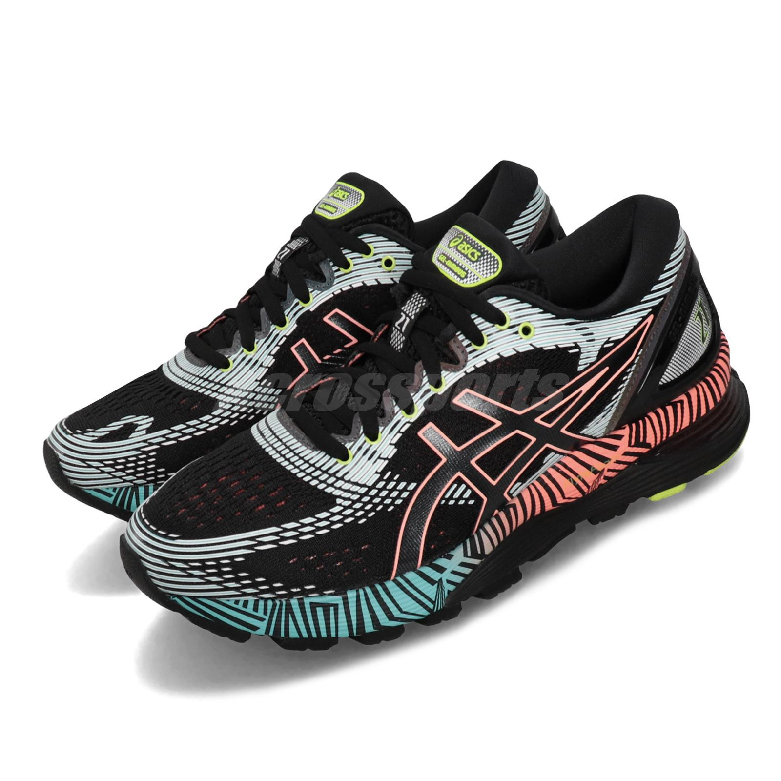 Details about Asics Gel-Nimbus 21 Lite-Show 2.0 Reflective Black Women  Running 1012A540-001