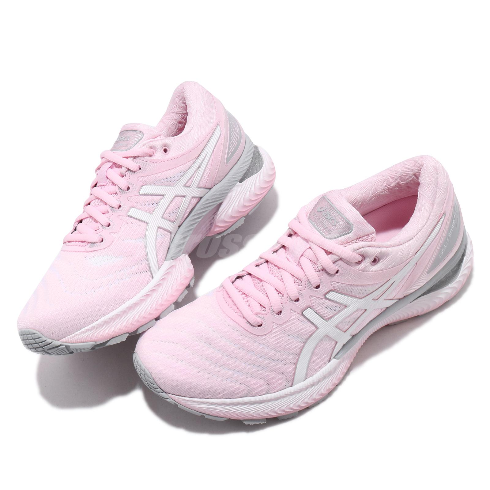 Details about Asics Gel-Nimbus 22 Cotton Candy Pink White Women Running  Shoes 1012A587-700