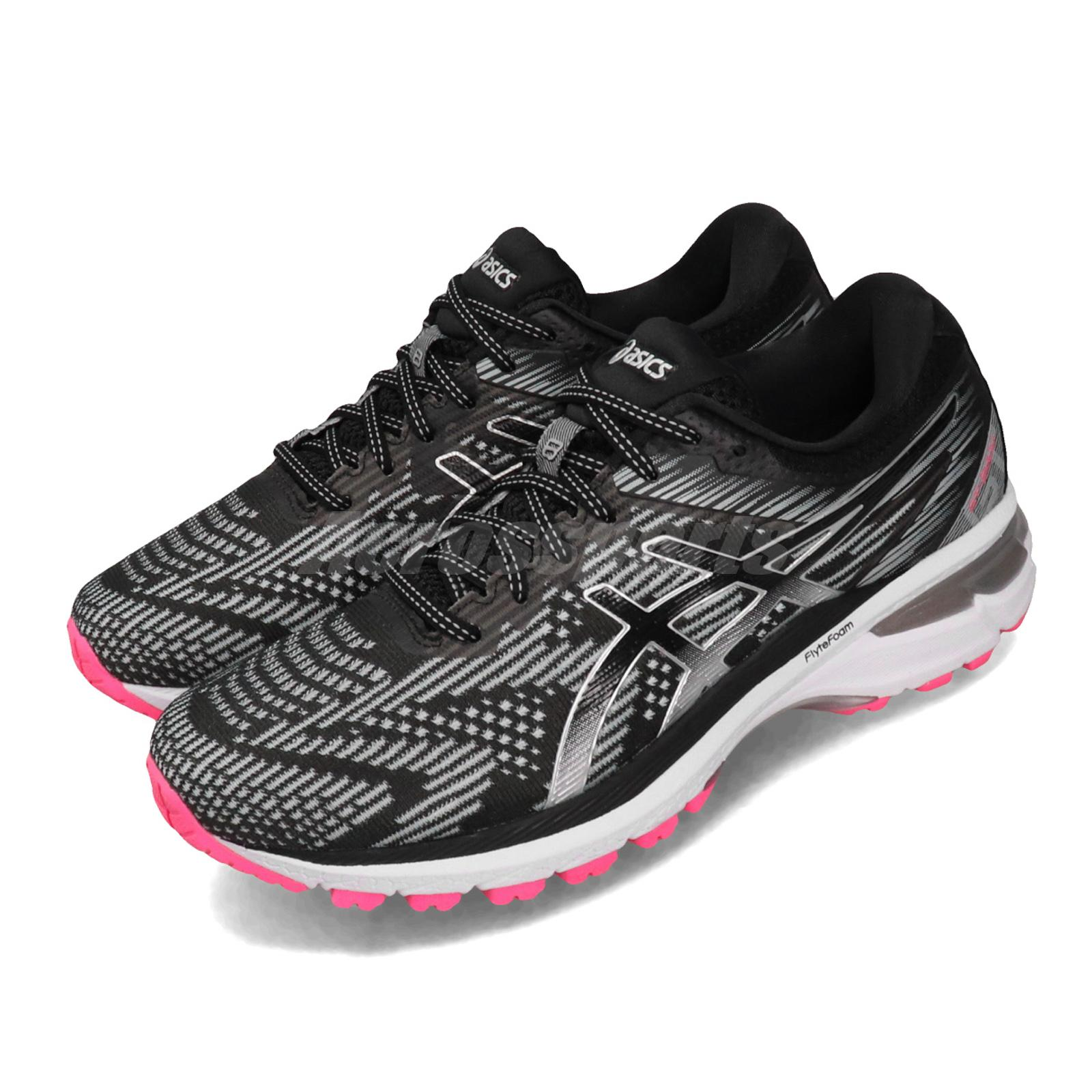 Details about Asics GT-2000 8 Lite-Show Grey Silver White Pink Women  Running Shoe 1012A590-021