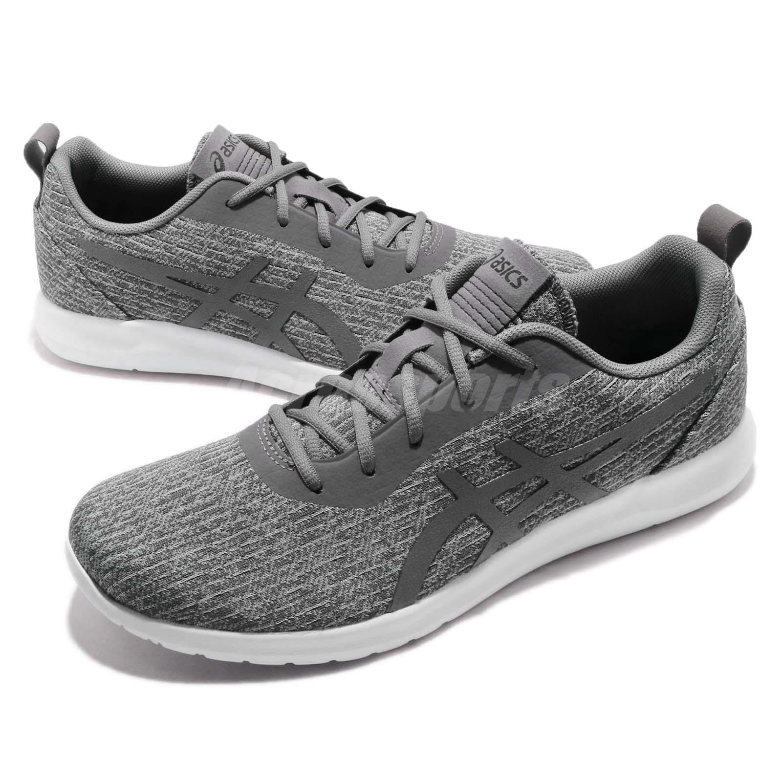 Details about Asics Kanmei 2 Carbon Grey White Mens Running Shoes  1021A011-020