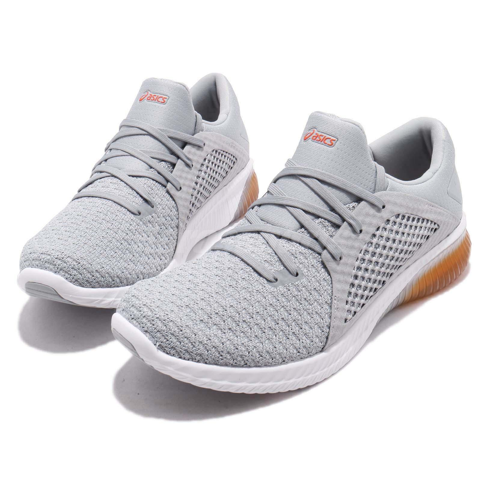 Details about Asics Gel-Kenun Knit MX Grey White Men Running Shoes Sneakers 1021A025-020