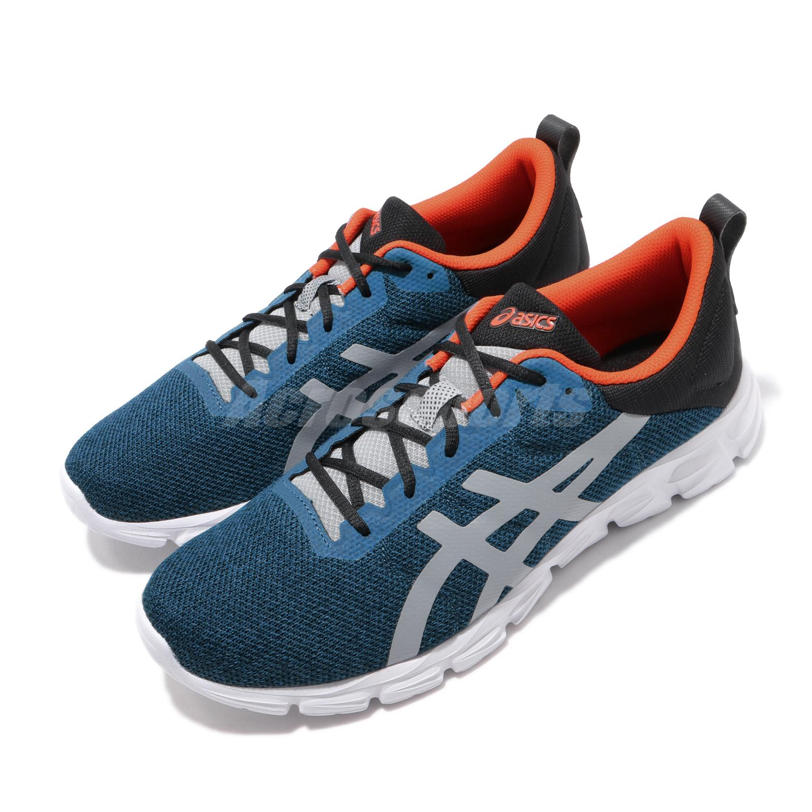 new style 23986 38276 Details about Asics Gel-Quantum Lyte Mako Blue Orange White Men Running  Shoes 1021A116-400
