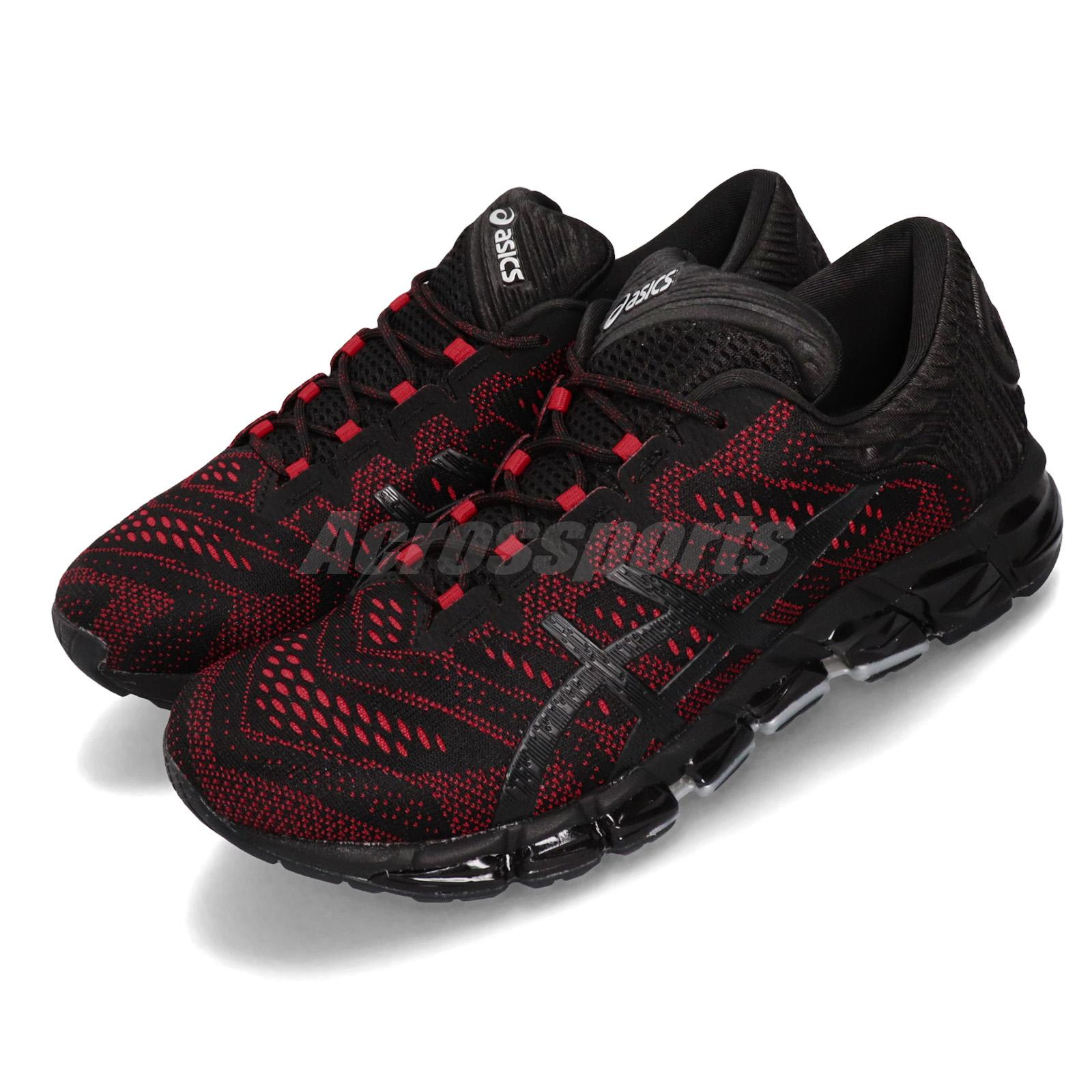 check out 3c26b cca49 Details about Asics Gel-Quantum 360 5 JCQ Black Classic Red Men Running  Shoes 1021A153-001