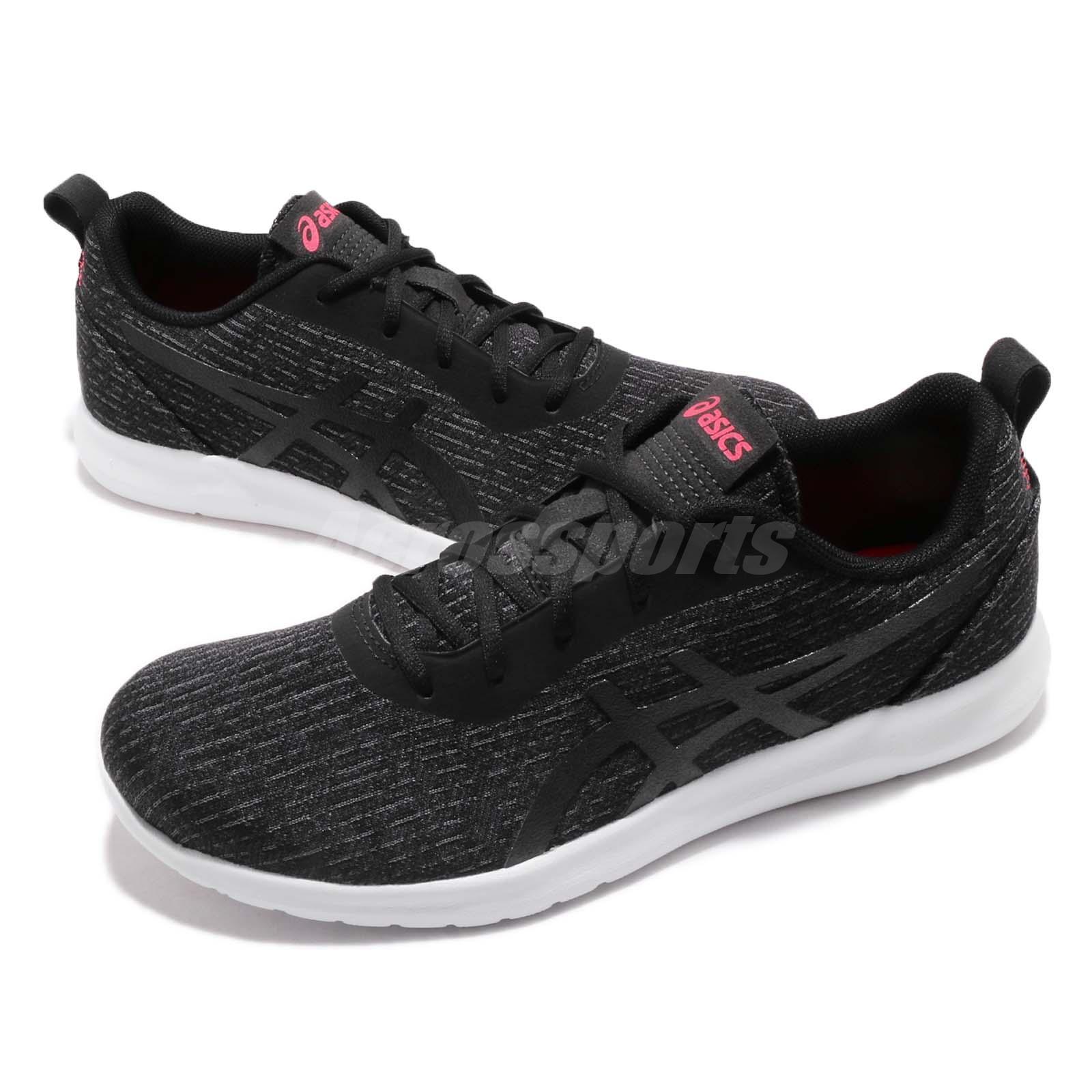 ac90b8c9d0d Details about Asics Kanmei 2 Black White Lightweight Womens Running Shoes  1022A011-001