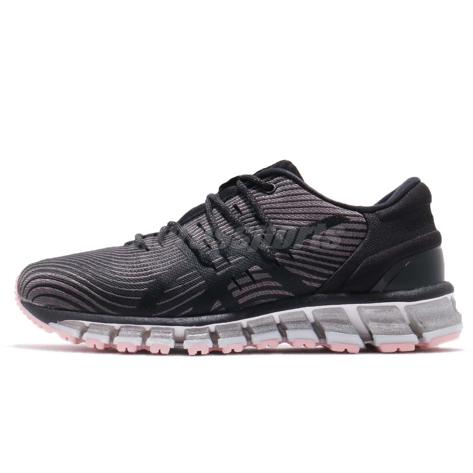 reputable site a30b5 93400 Details about Asics Gel-Quantum 360 4 Carbon Black Pink Women Running Shoes  1022A029-020