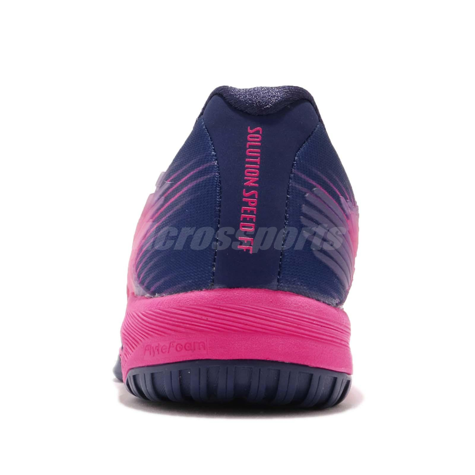 Asics Solution Speed FF Pink White Women Tennis Shoes Sneakers ... 210334a466a