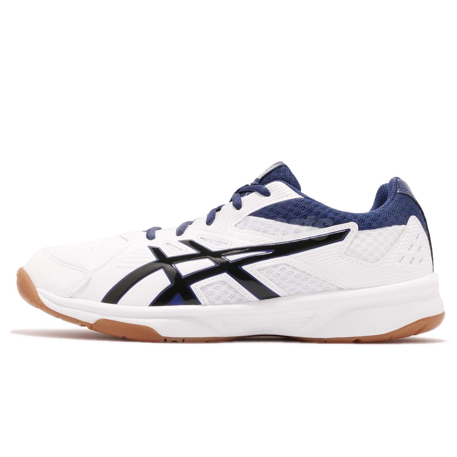 4317bdf3fde7 Asics Court Break White Black Gum Men Badminton Volleyball Shoes  1071A00-3100