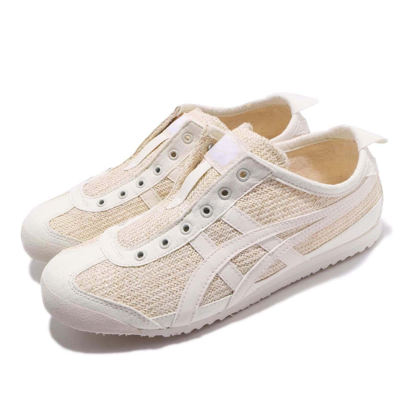 finest selection 43aa3 c945e Details about Asics Onitsuka Tiger Mexico 66 Slip On Cream Women Shoes  Sneakers 1182A046-101