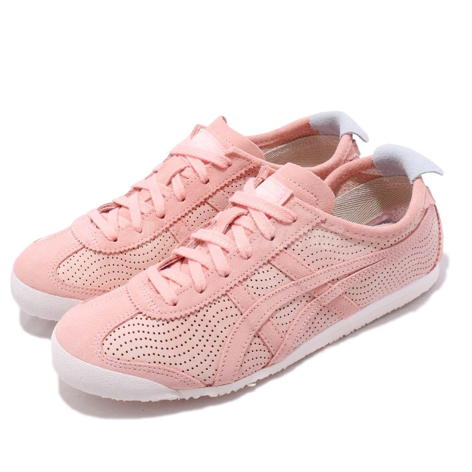 113997cfe0a7 Details about Asics Onitsuka Tiger Mexico 66 Pink Womens Retro Running  Shoes 1182A074-701