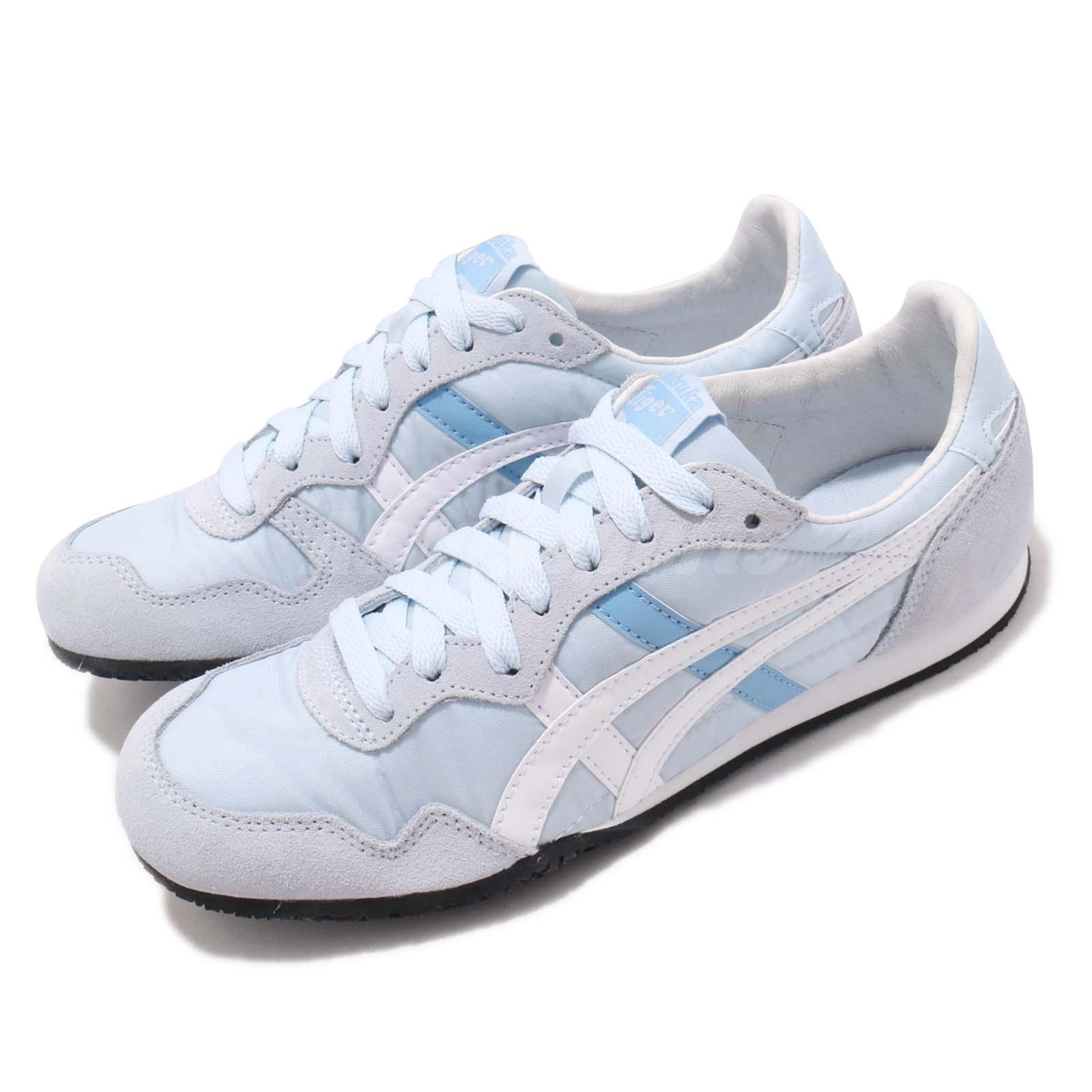 37df2d5770ee3 Details about Asics Onitsuka Tiger Serrano Sky Blue White Women Running  Shoes 1182A077-400