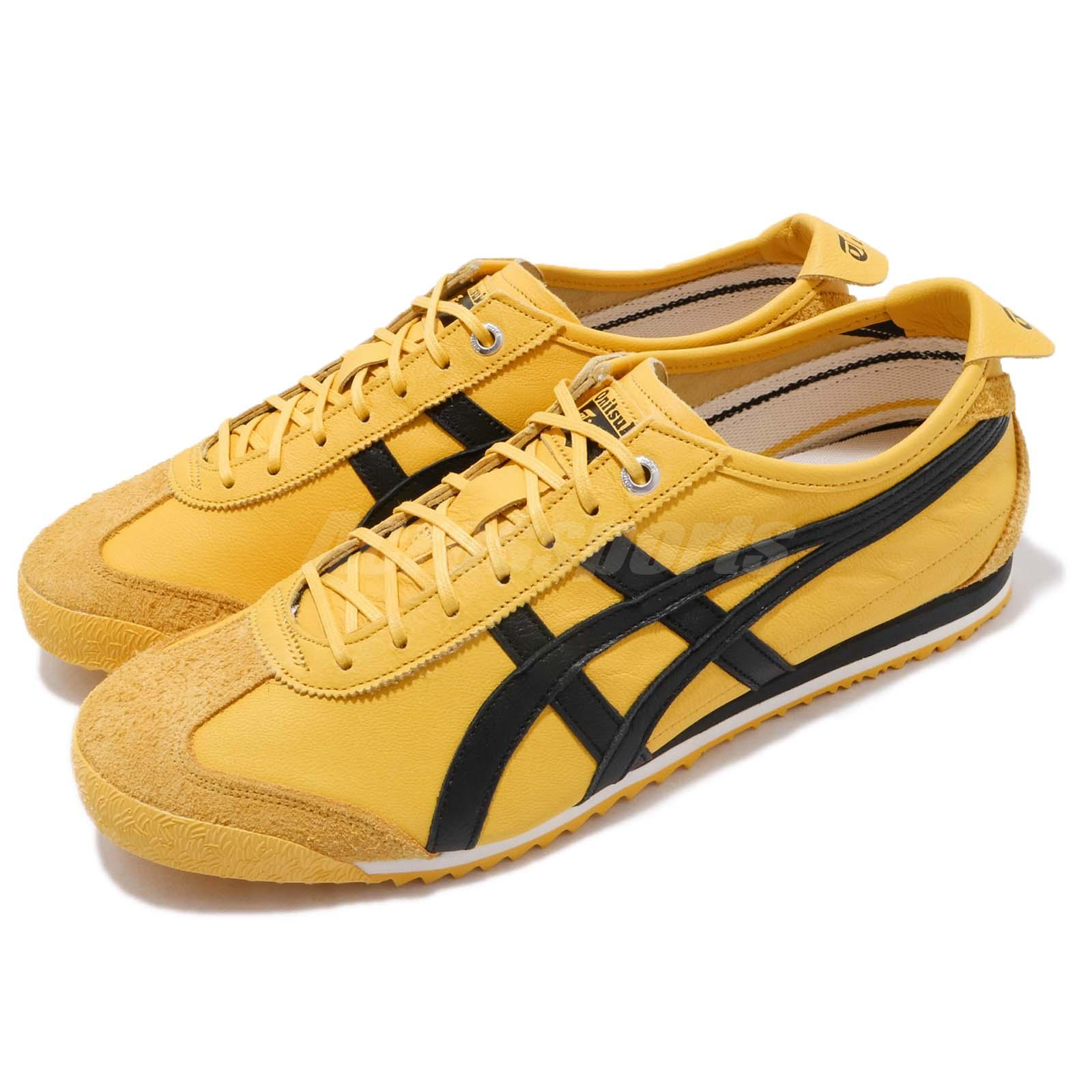 buy popular 2a864 5e010 Details about Asics Onitsuka Tiger Mexico 66 TAI-CHI Yellow Black Men Women  Shoes 1183A036-750