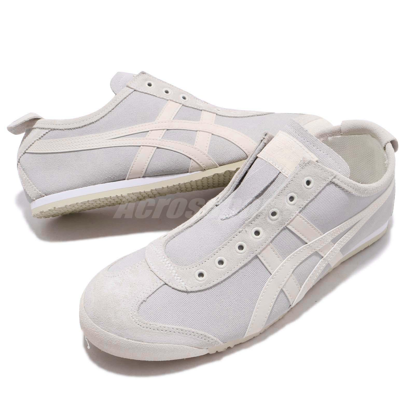 hot sales a75c0 04616 Details about Asics Onitsuka Tiger Mexico 66 Slip On Cream Oatmeal Men  Women Shoe 1183A042-100