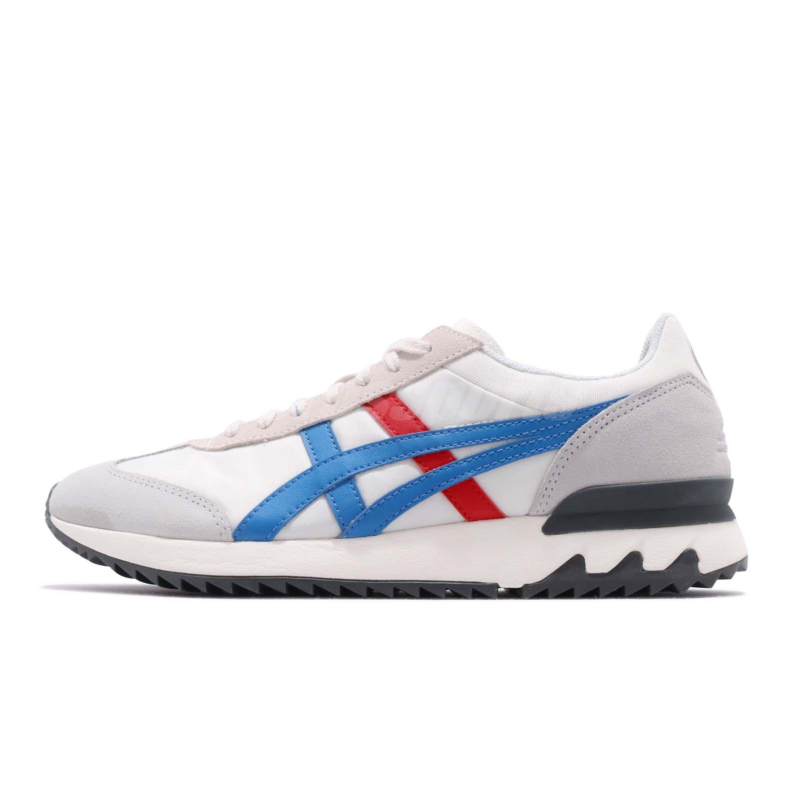 1bc6a48b3bff2 Asics Onitsuka Tiger California 78 EX Cream Blue Red Men Shoes 1183A194-100