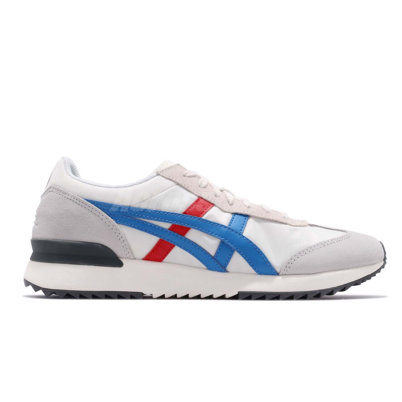 a77ab42ad36cd Asics Onitsuka Tiger California 78 EX Cream Blue Red Men Shoes ...