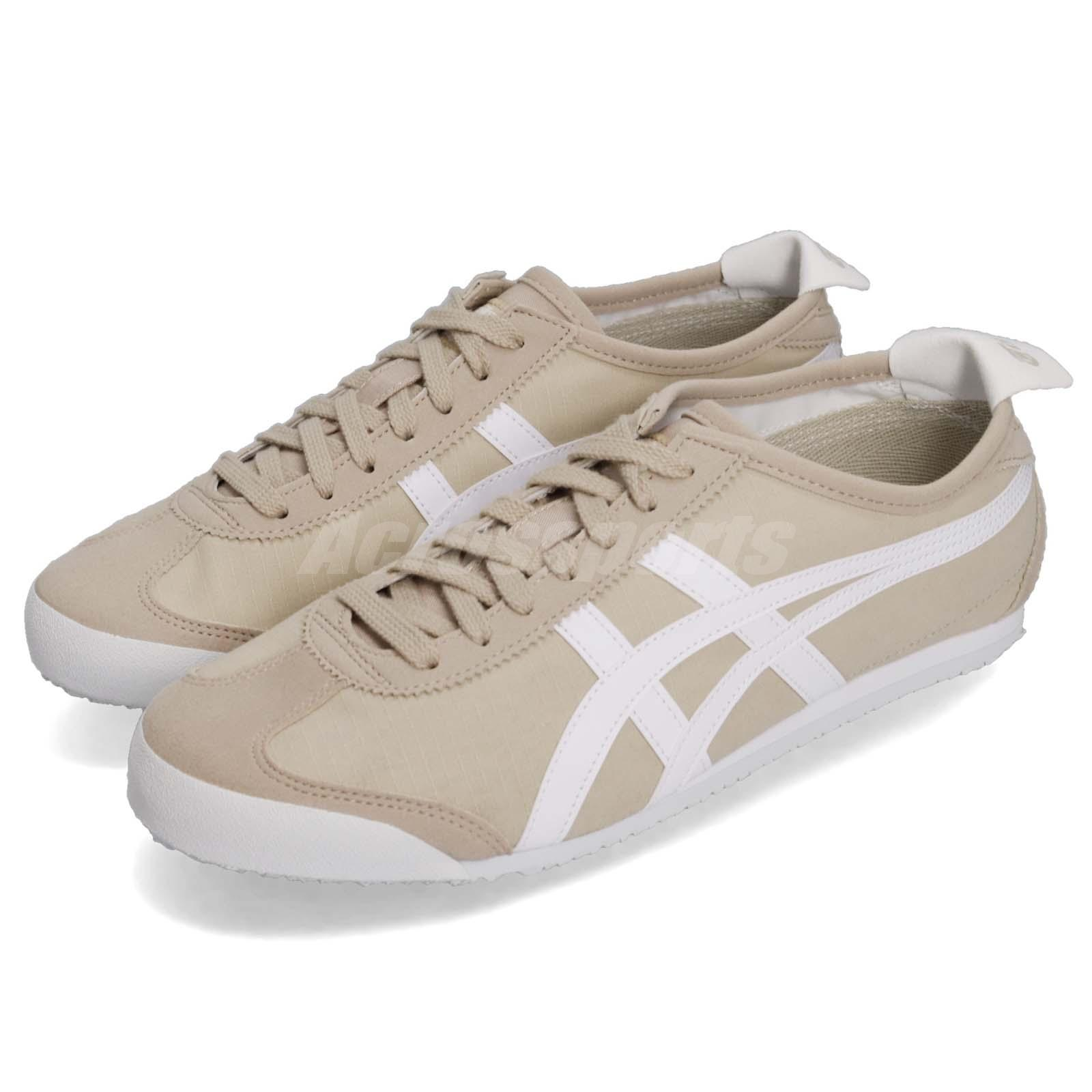Details about Asics Onitsuka Tiger Mexico 66 Simply Taupe White Men Women Shoes 1183A223 250