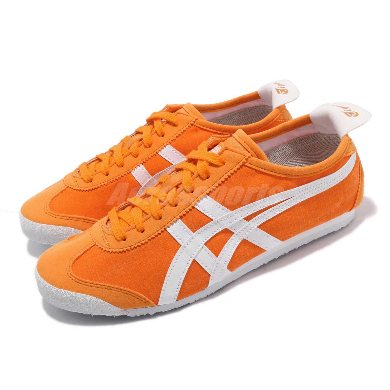 uk availability a66db 0e1da Details about Asics Onitsuka Tiger Mexico 66 Citrus Orange White Men Women  Shoes 1183A223-800