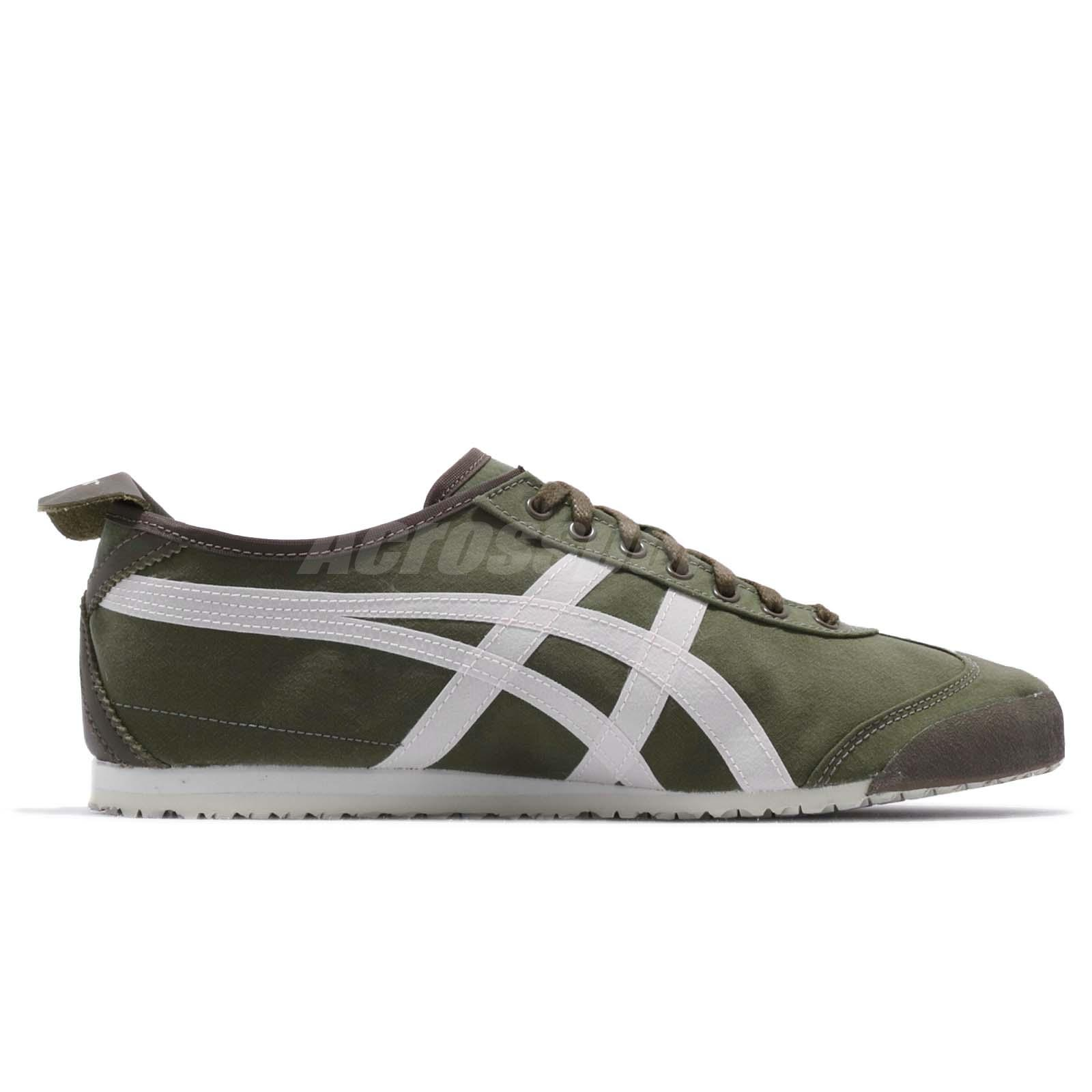 Asics Onitsuka Tiger Mexico 66 Olive Green Men Women Running Shoes 1183A348-300