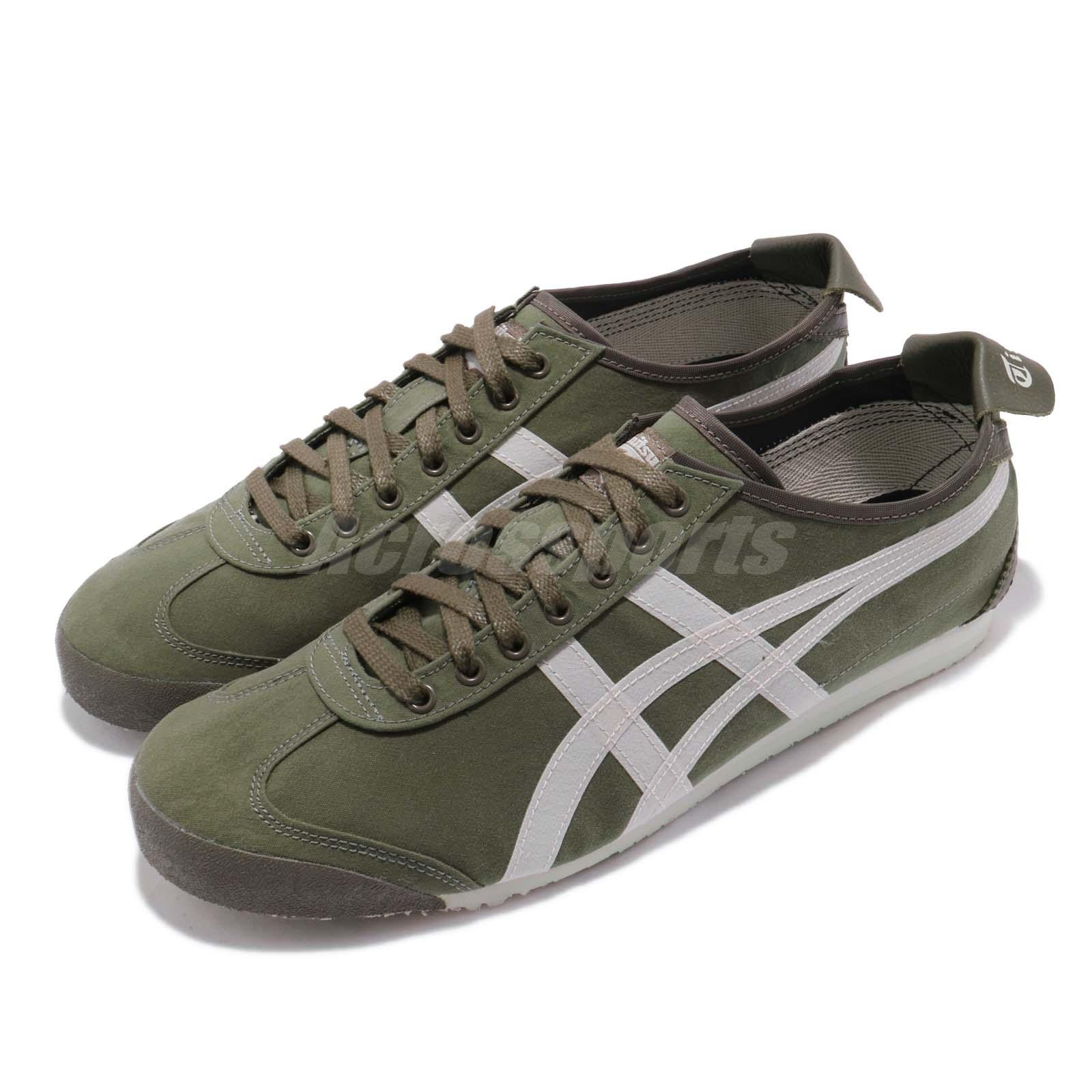 buy online 8ba94 ca2a5 Details about Asics Onitsuka Tiger Mexico 66 Olive Green Men Women Running  Shoes 1183A348-300