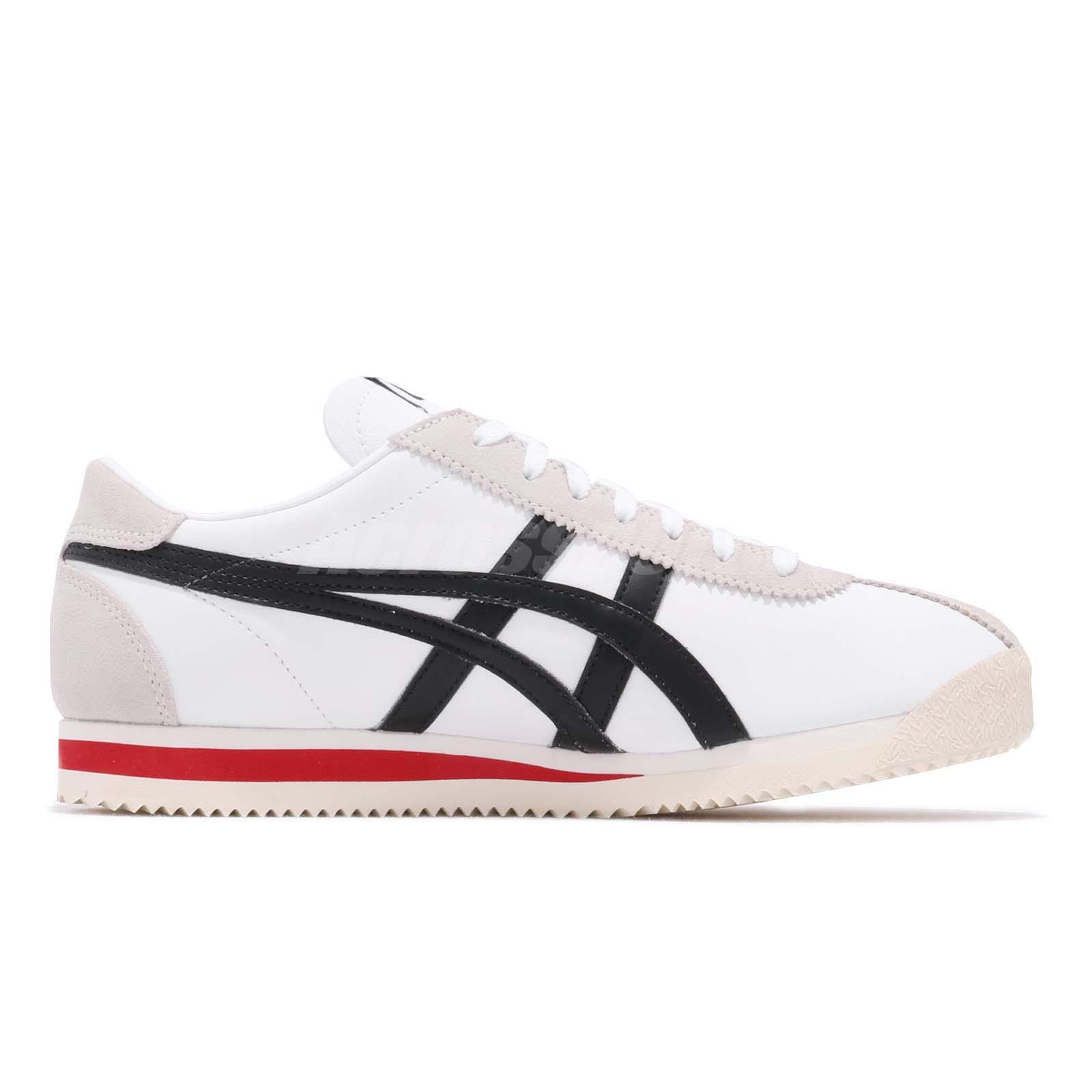 77babb77d974e Asics Onitsuka Tiger Corsair White Black Red Men Women Shoe Sneaker ...