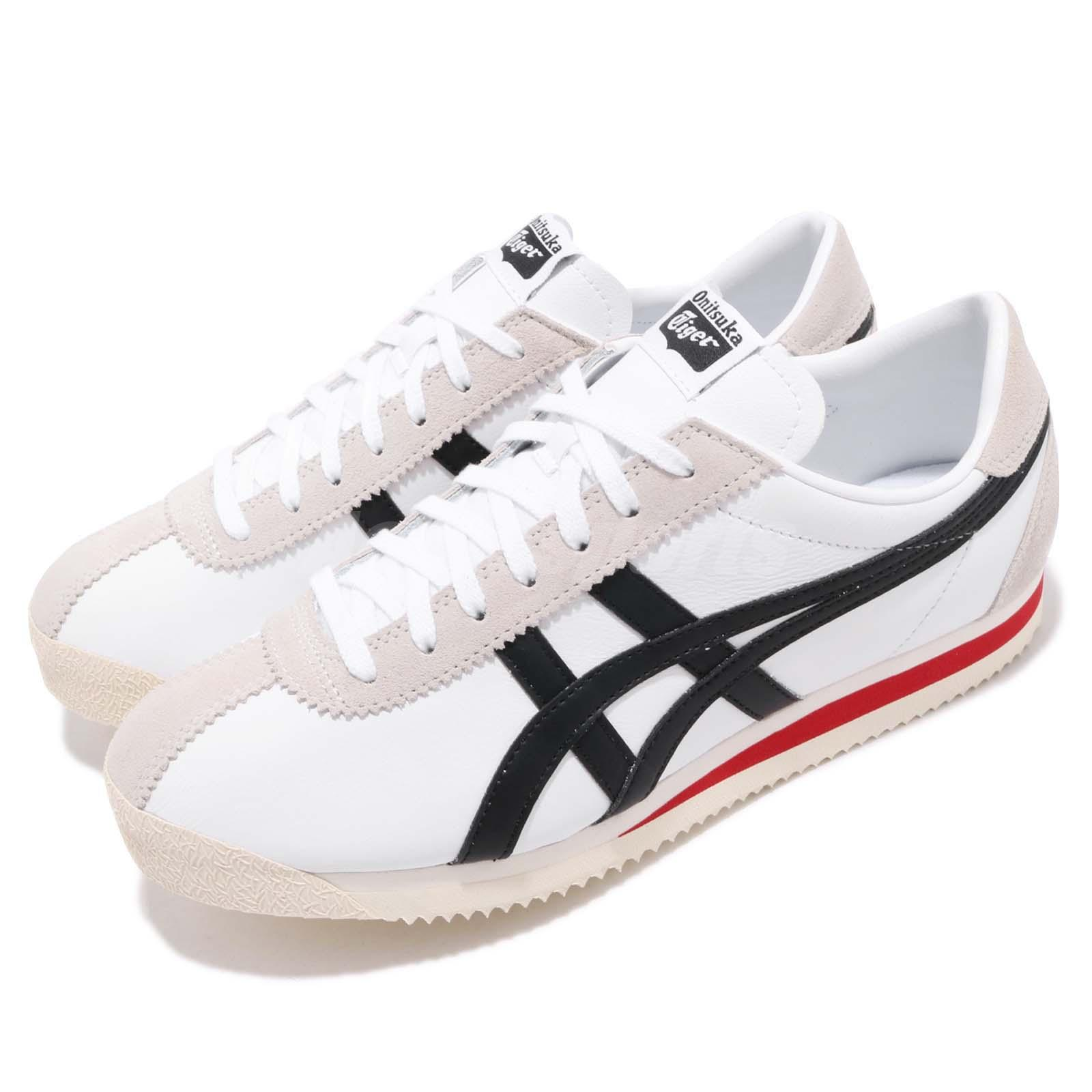 sale retailer 27876 75a0f Details about Asics Onitsuka Tiger Corsair White Black Red Men Women Shoe  Sneaker 1183A357-100