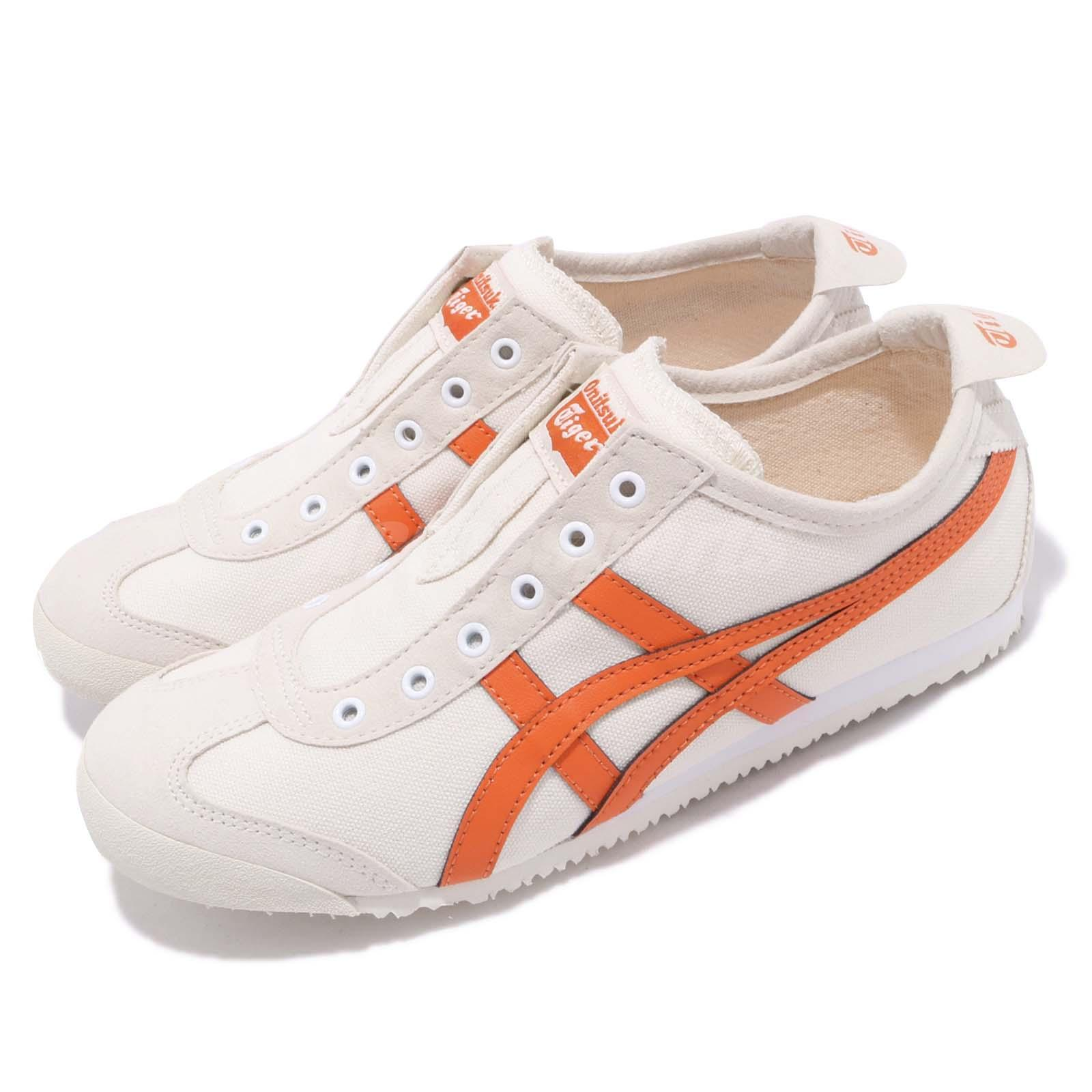 sports shoes 4d2fe 81143 Details about Asics Onithuka Tiger Mexico 66 Slip On Birch Orange Men Women  Shoes 1183A360-202