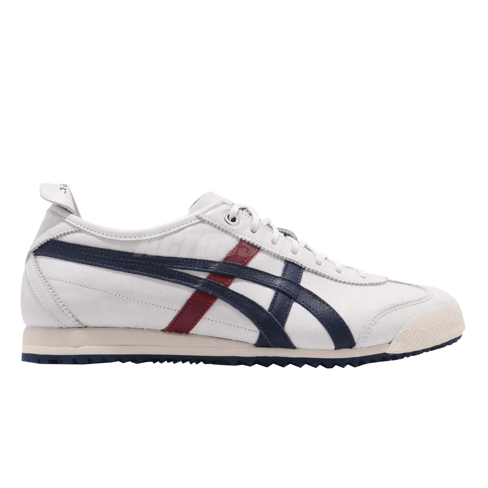 Chaussures Mexico Hommes 2014 Bleu Asics 66 Tiger Blanc