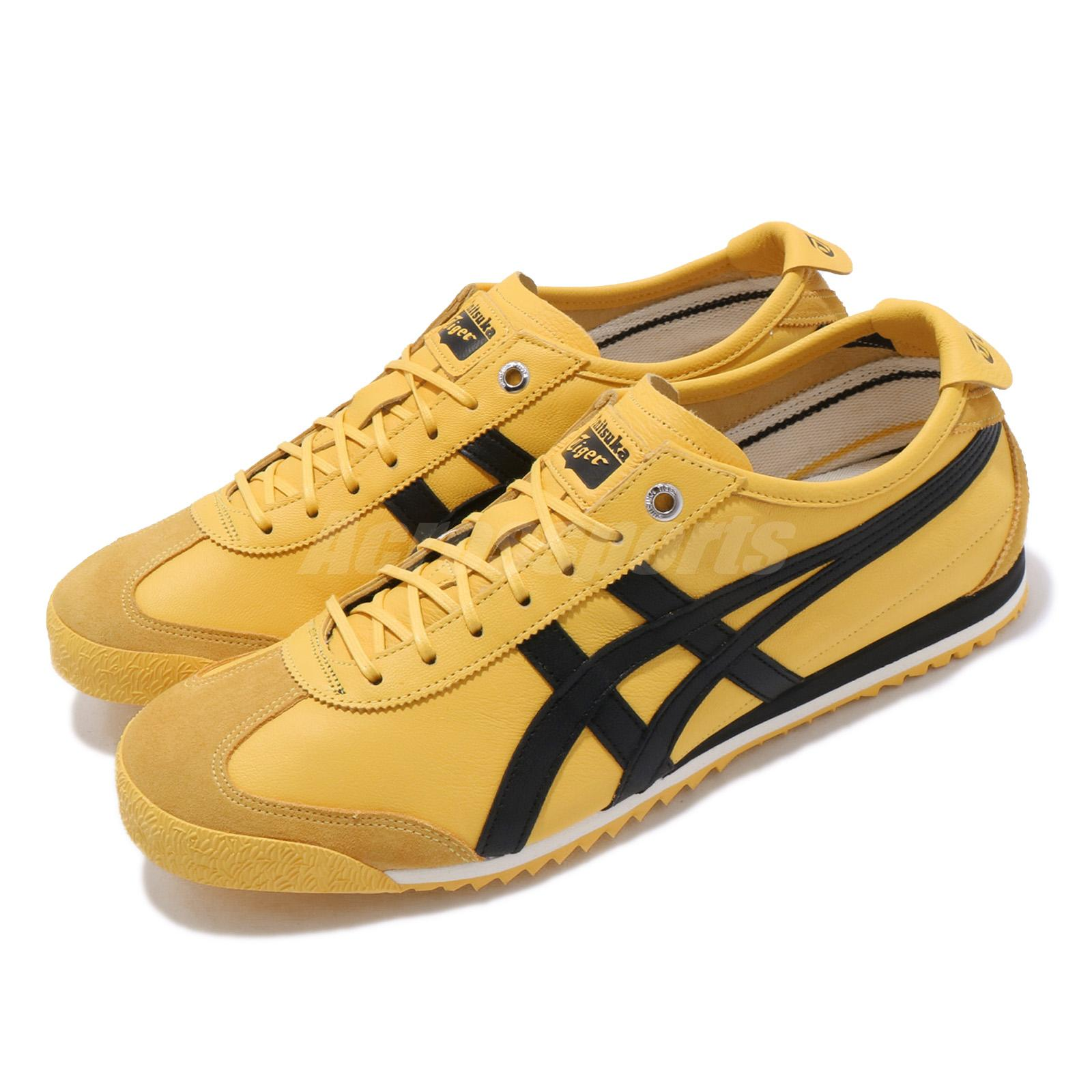 best service 0afac cce5d Details about Asics Onitsuka Tiger Mexico 66 SD Tai-Chi Yellow Black Men  Shoes 1183A727-750