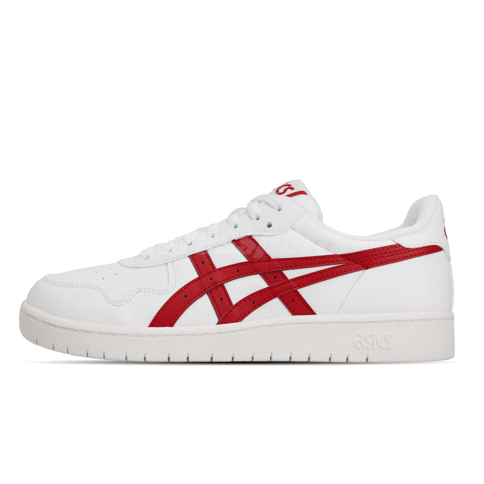 asics sneakers red