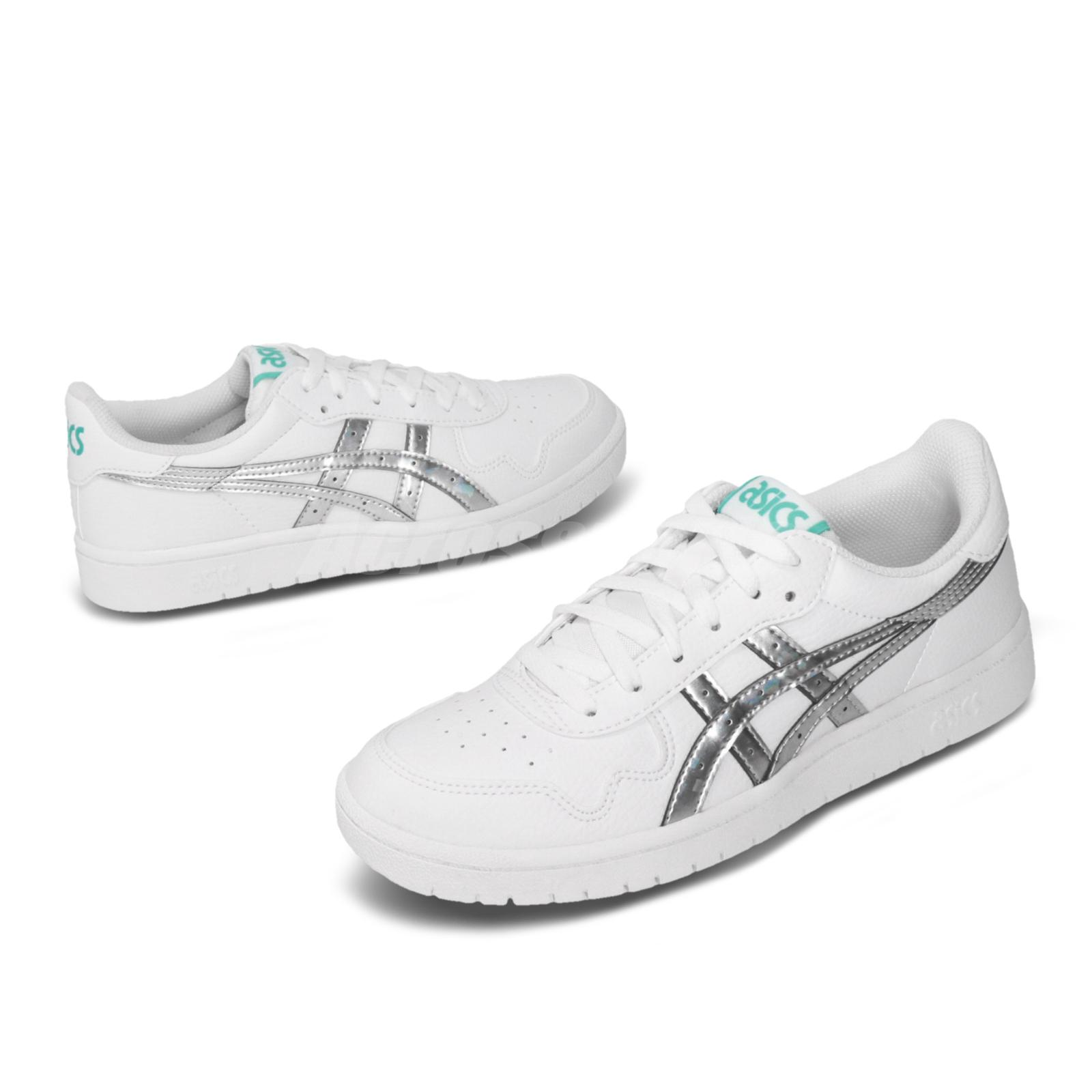 Details about Asics Tiger Japan S White Silver Women Classic Casual Shoes  Sneaker 1192A185-101