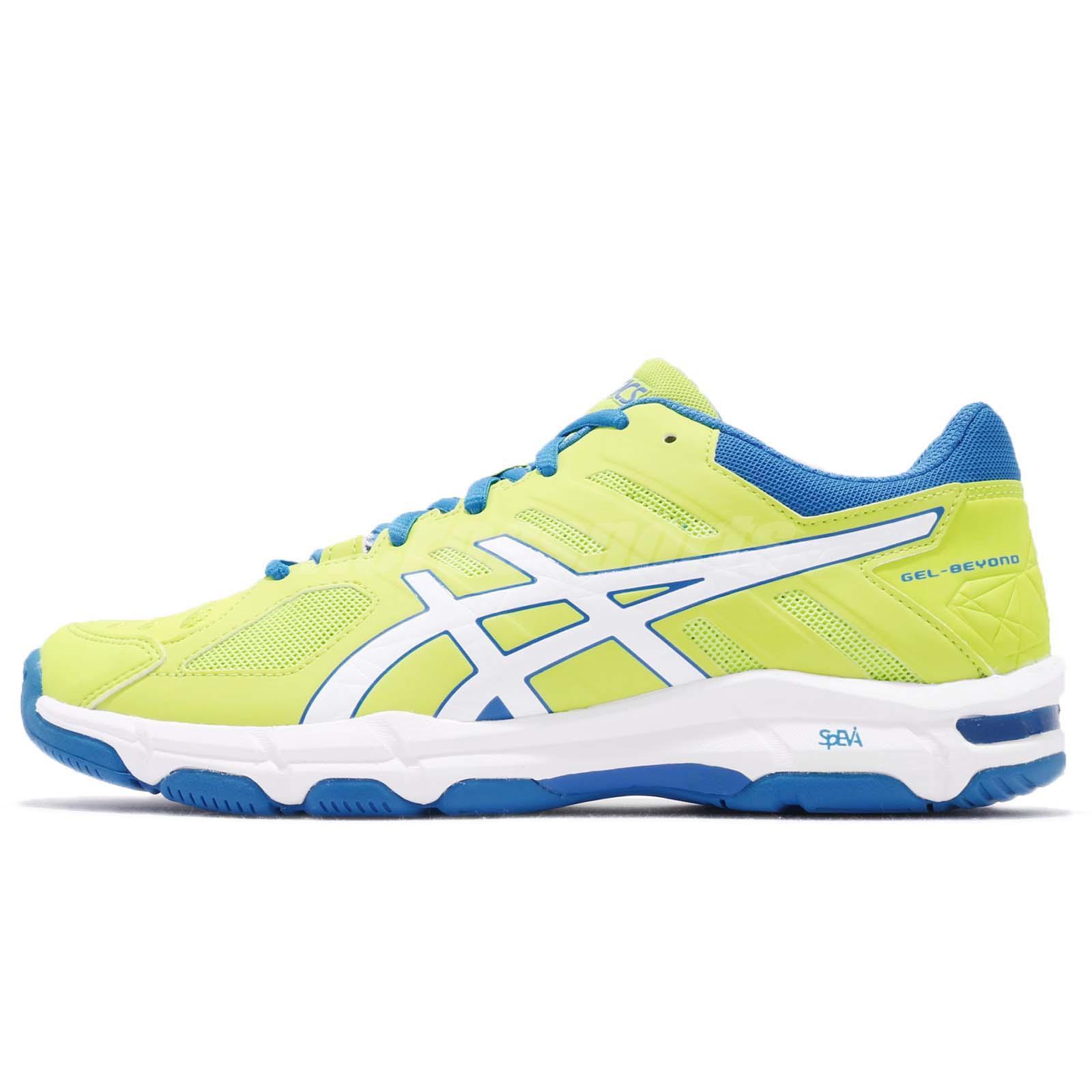89b4c6eecbf Asics Gel-Beyond 5 V Energy Green White Men Badminton Volleyball Shoe  B601N-7701